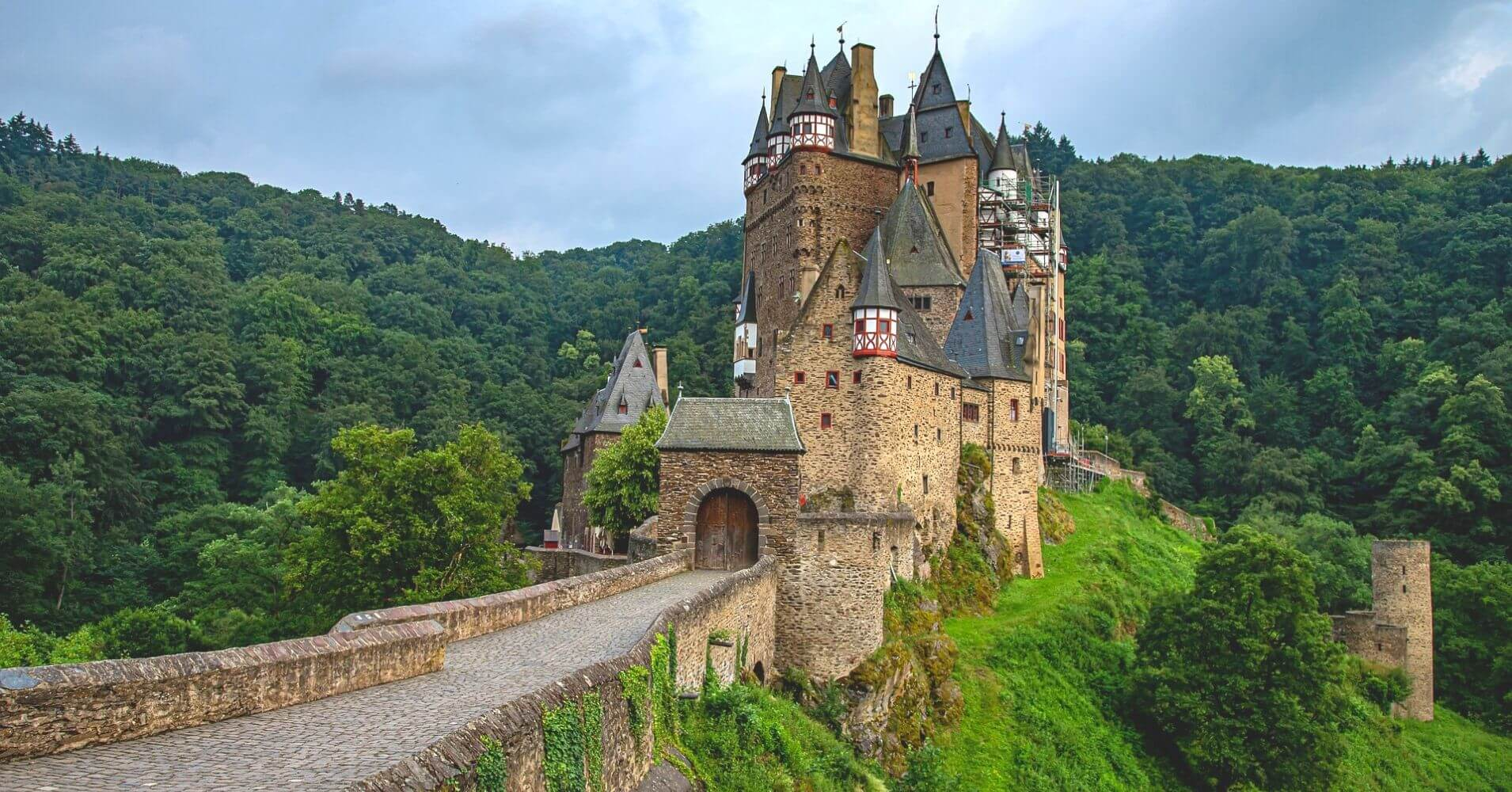 Castillo de Eltz. Wierschem, Renania-Palatinado. Alemania.