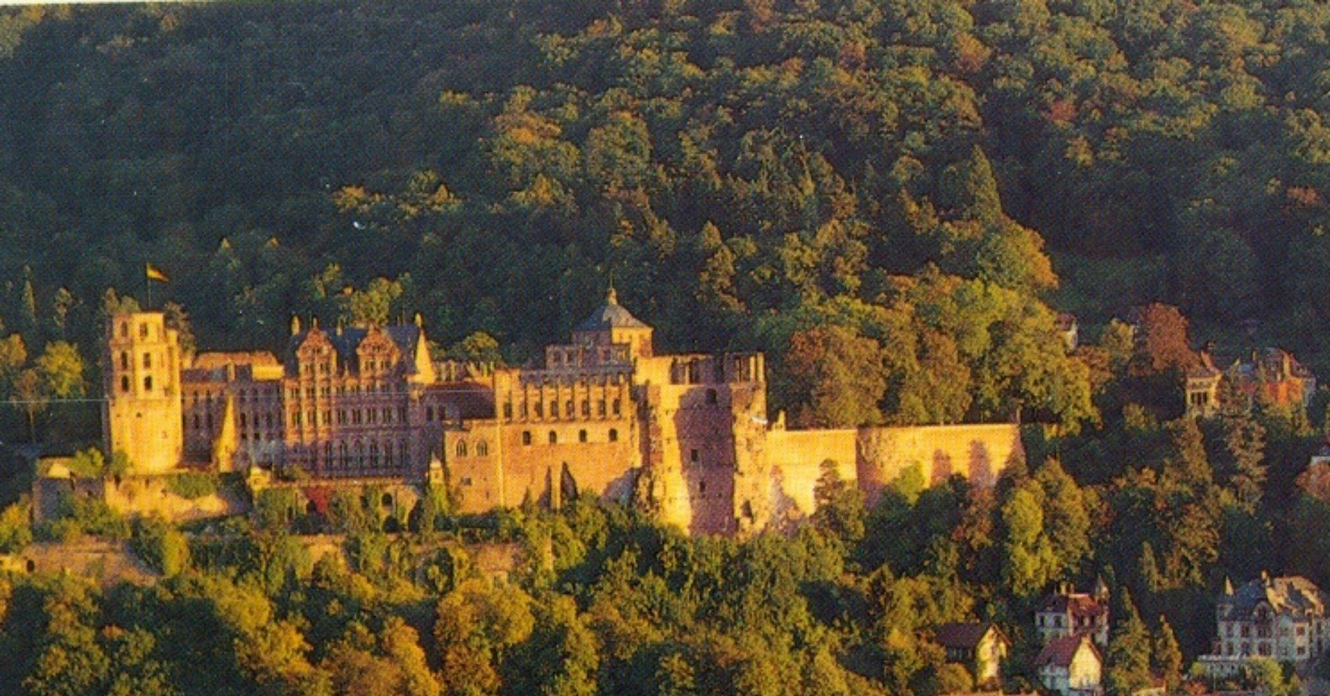 Castillo de Heidelberg en Baden-Wurtemberg. Alemania.