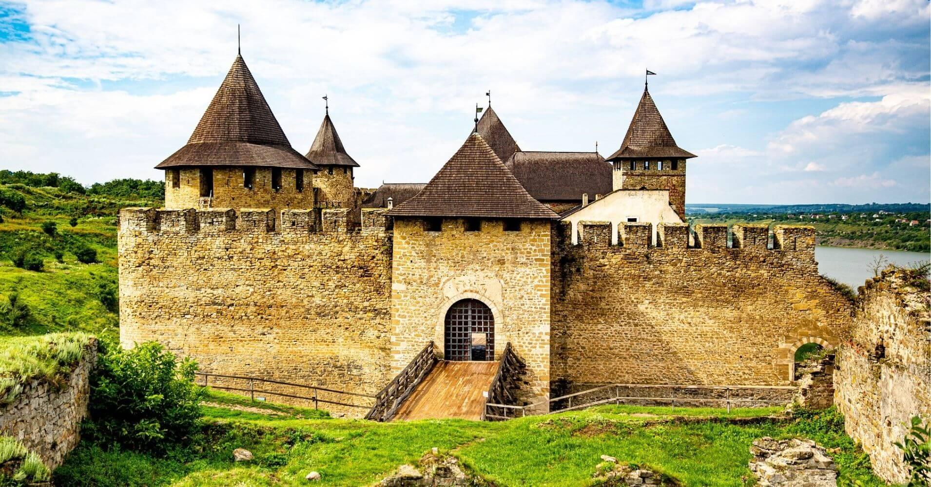 Castillo de Khotyn, Ucrania.
