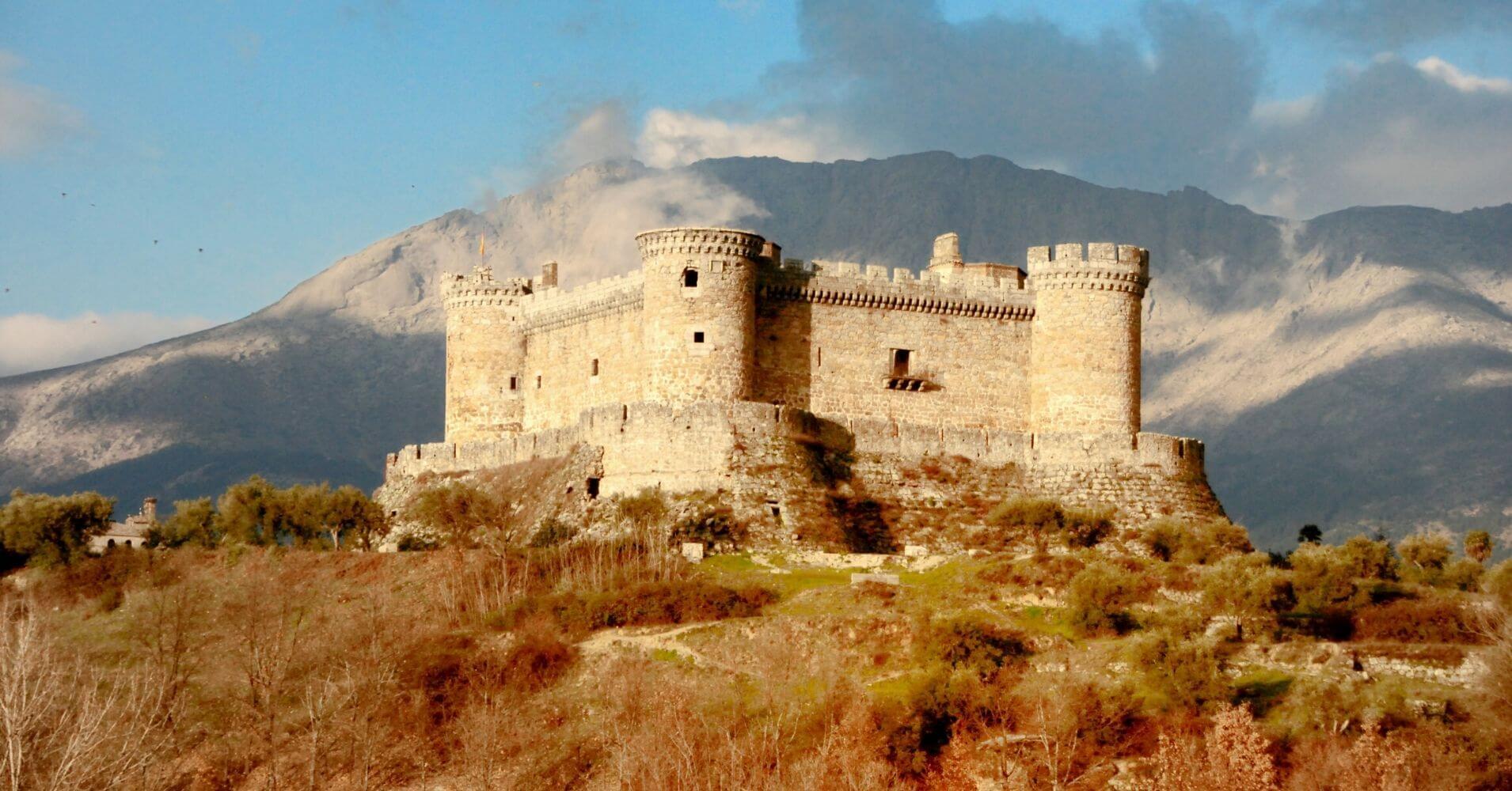 Castillo de Mombeltrán. Ávila, Castilla y León.