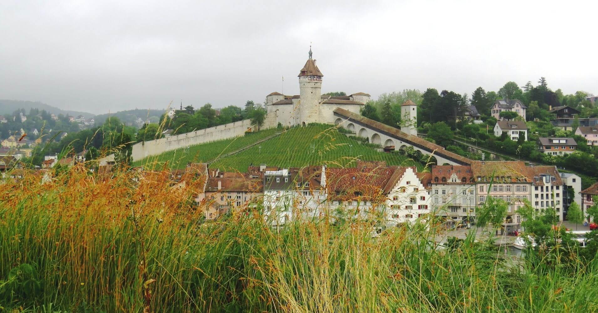 Castillo de Munot. Schaffhausen. Suiza.