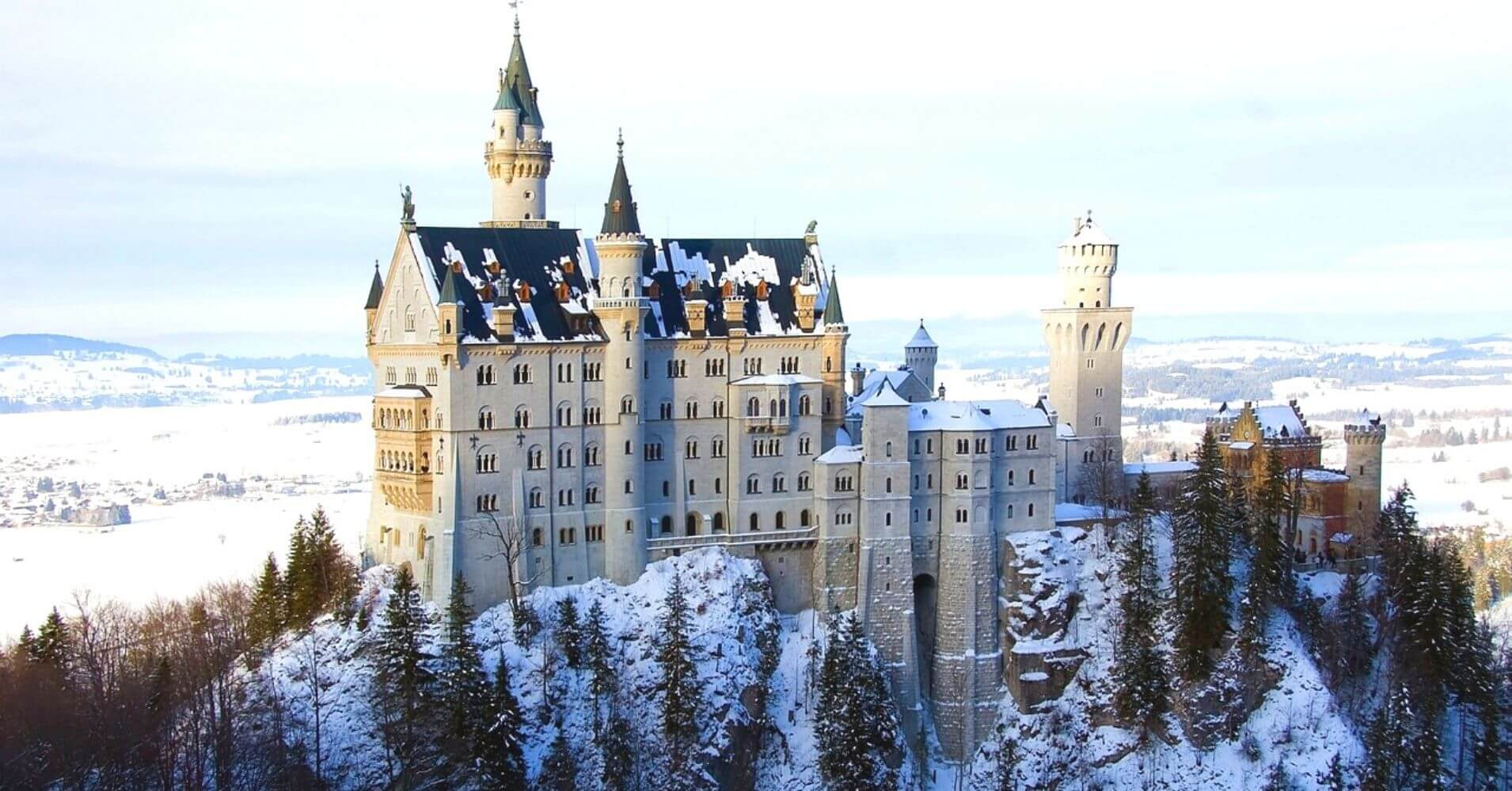 Castillo de Neuschwanstein. Baviera en Alemania.