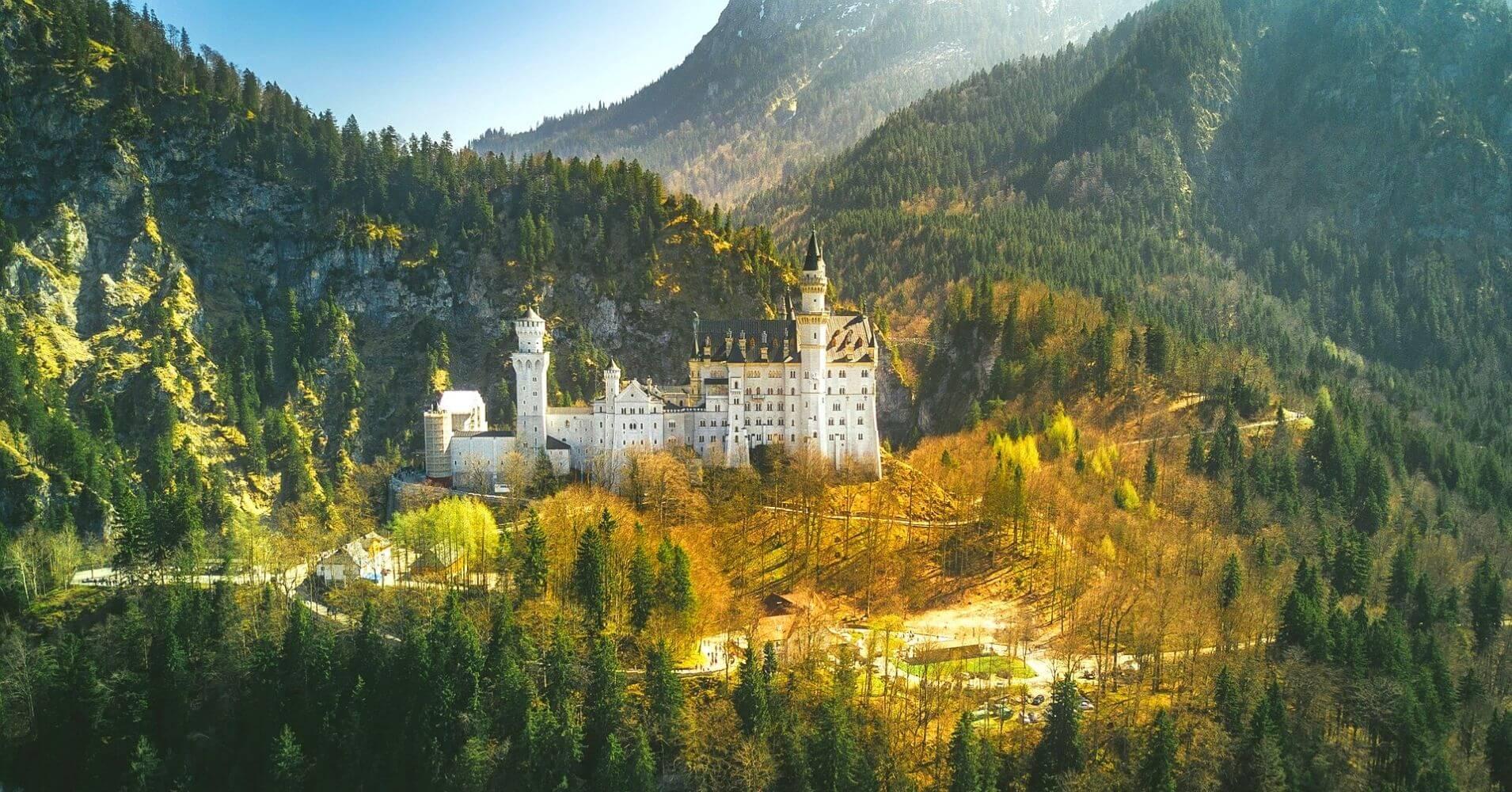 Morada del Rey Loco en Baviera. Alemania.