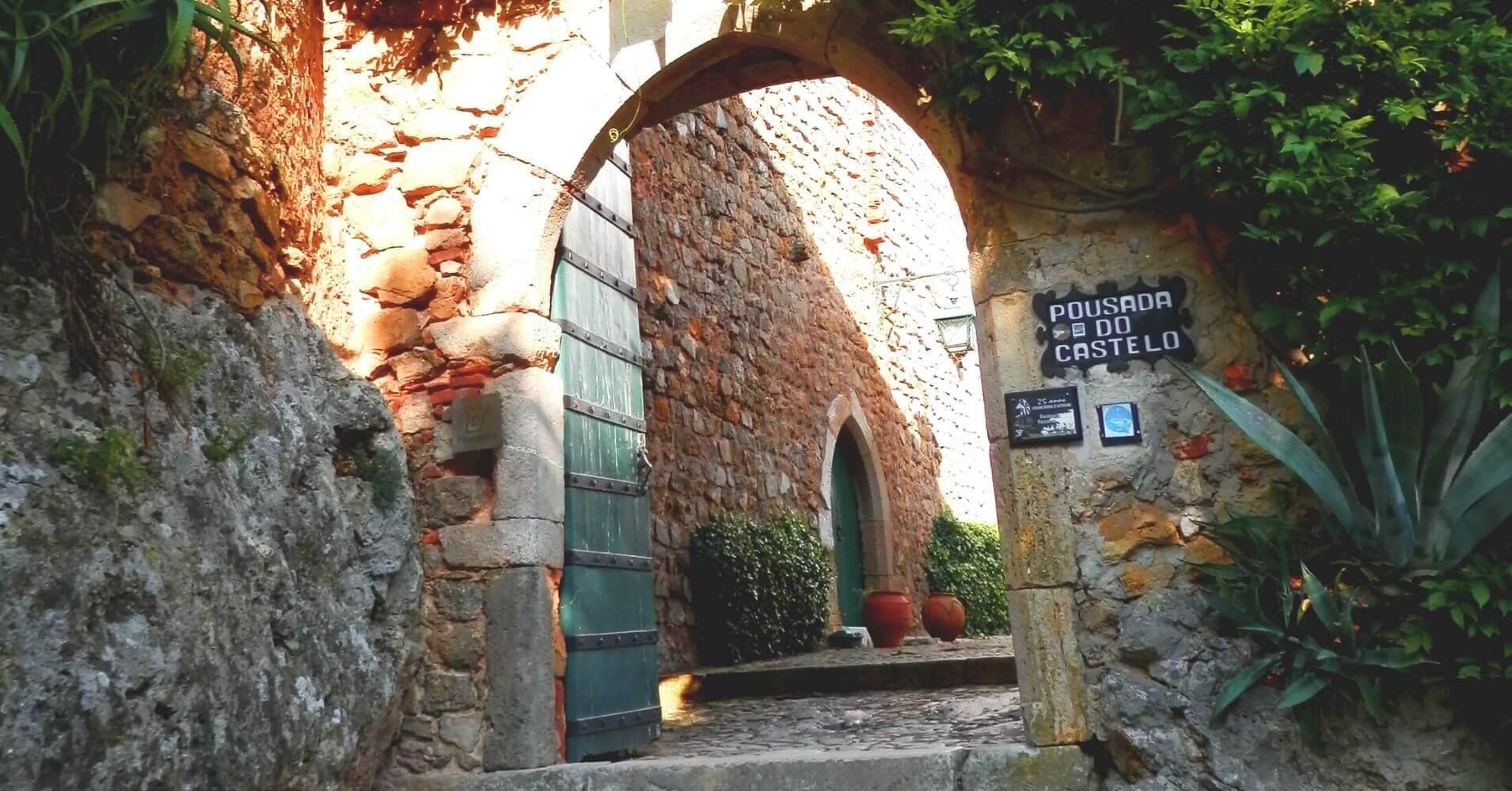 Posada do Castillo de Óbidos. Portugal.