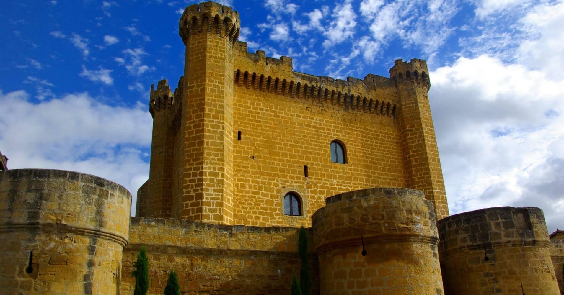 Castillo de Sajazarra. La Rioja, España.