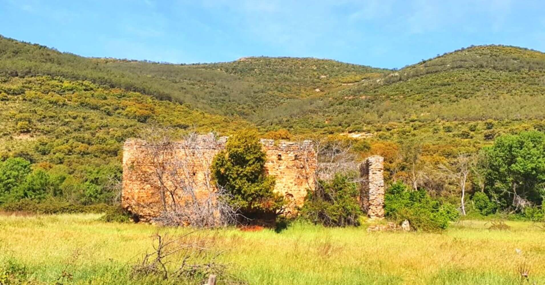 Castillo del Yacimiento Arqueológico de Hontanar. Montes de Toledo, Castilla La Mancha.