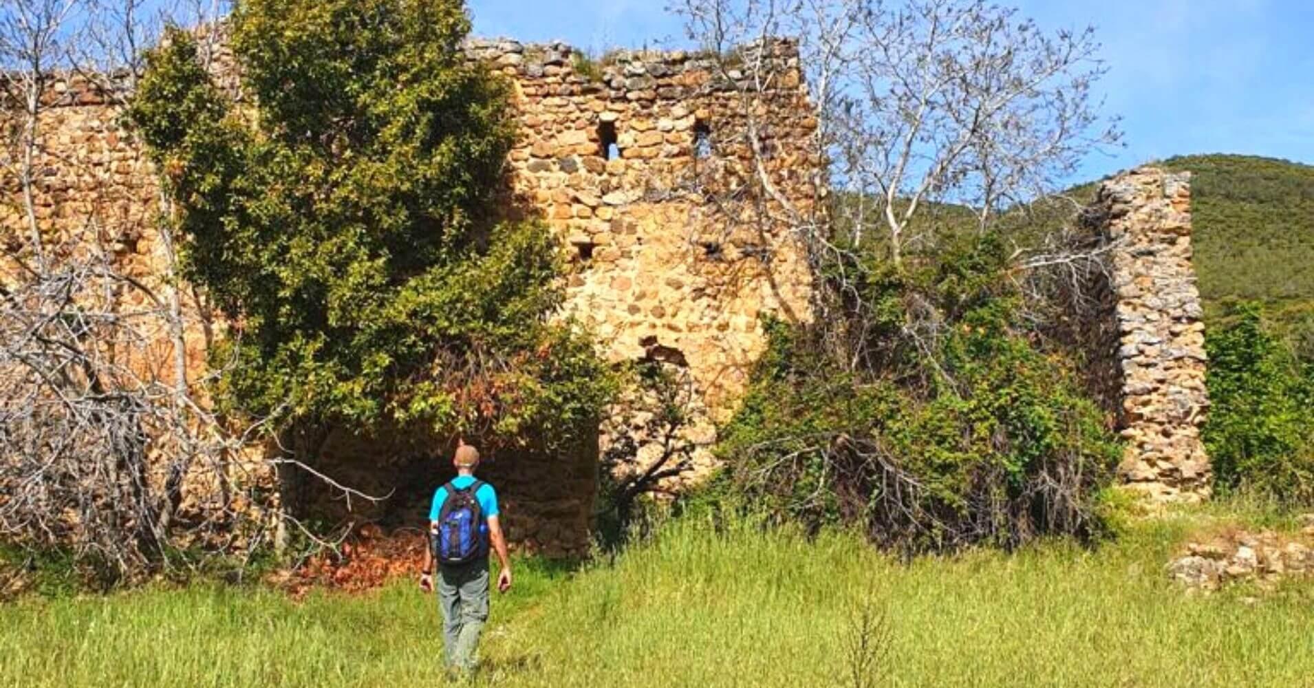 Castillo del Yacimiento Arqueológico de Hontanar. Toledo, Castilla La Mancha.
