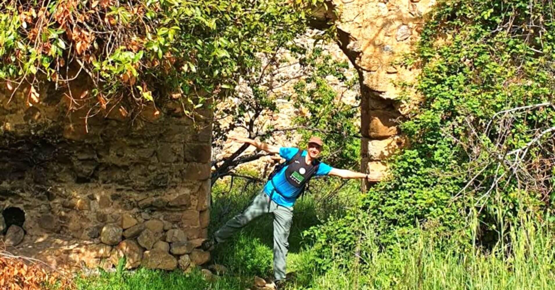 Castillo del Yacimiento Arqueológico de Malamoneda. Hontanar, Toledo. Castilla La Mancha.