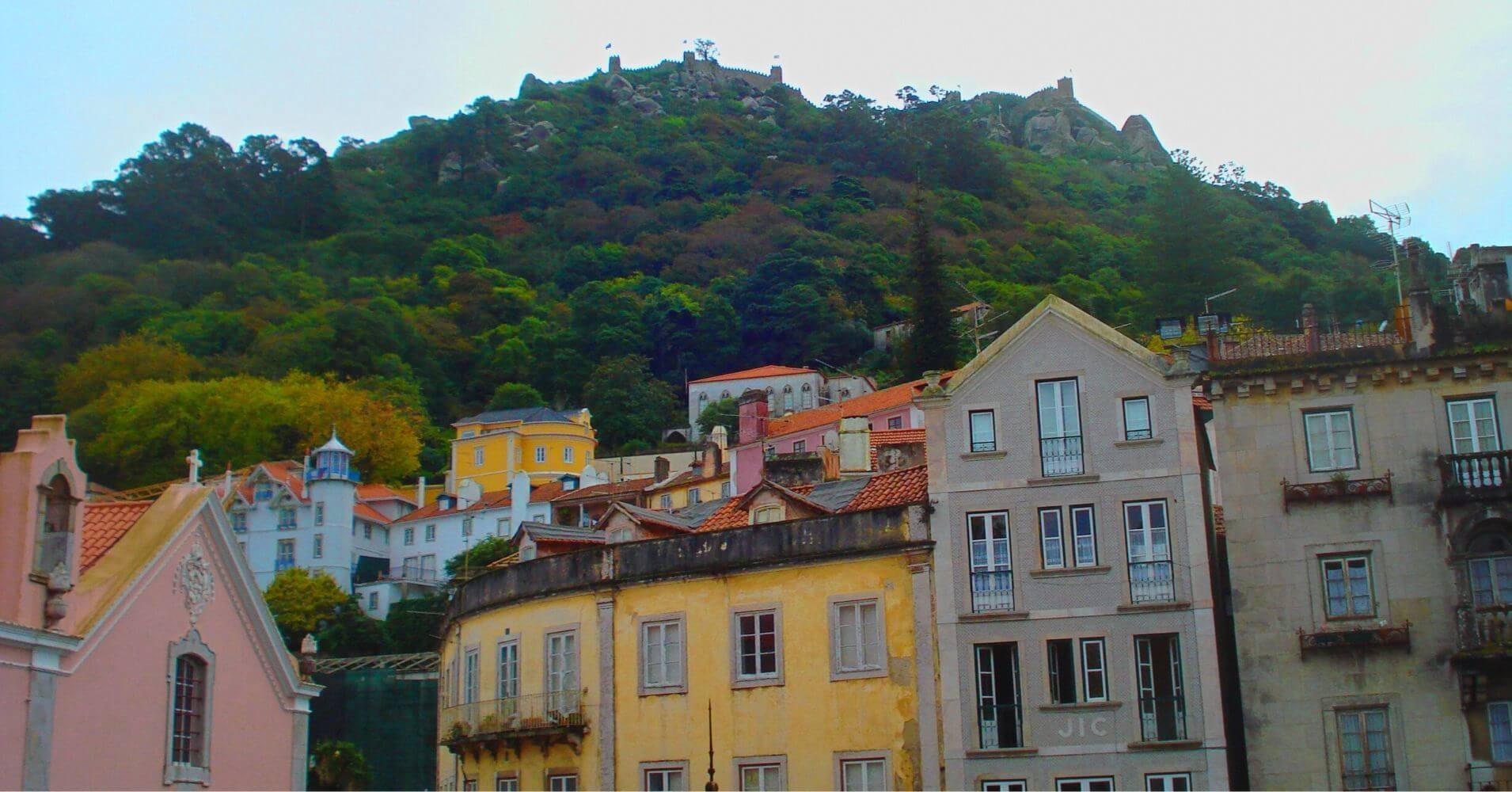 Castillo dos Mouros. Sintra, Portugal.