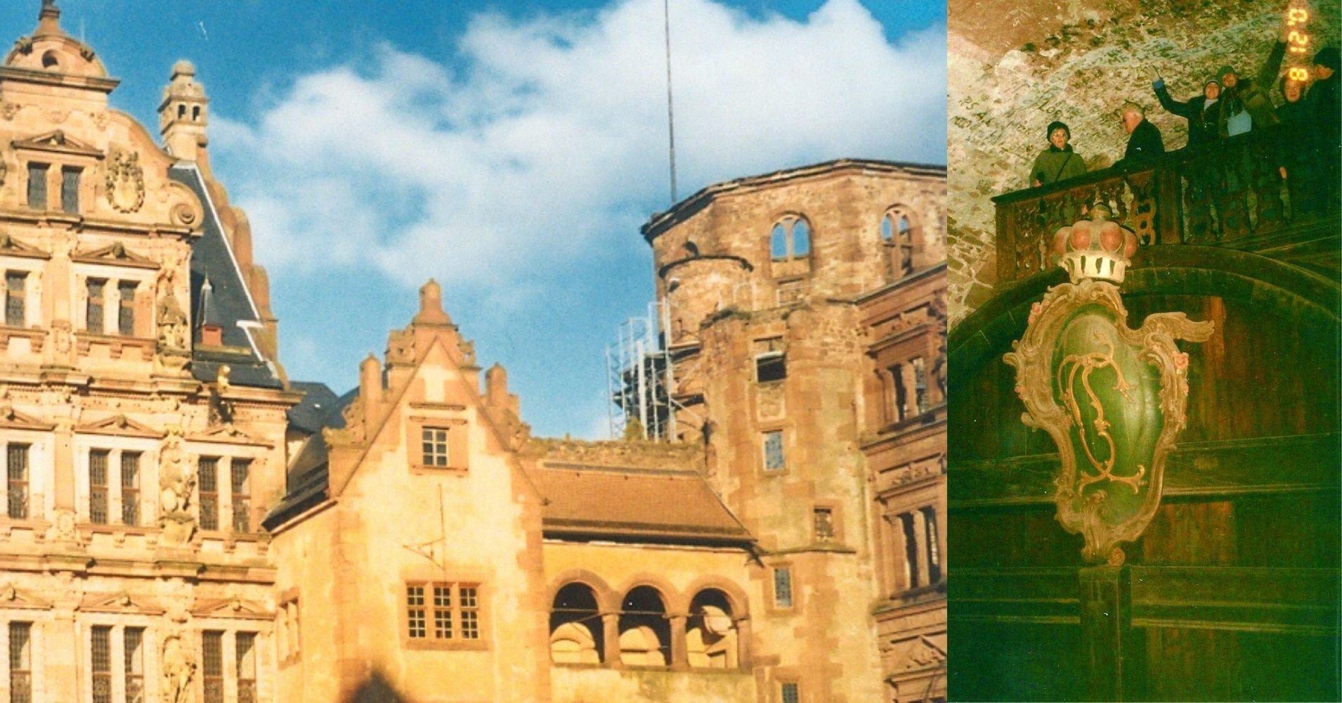 Castillo Heidelberg. Baden-Wurtemberg. Alemania.