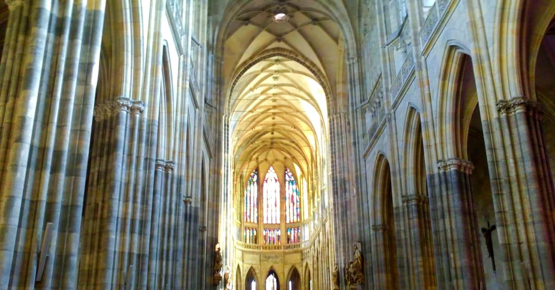 Catedral de Praga Capital de Bohemia. República Checa.
