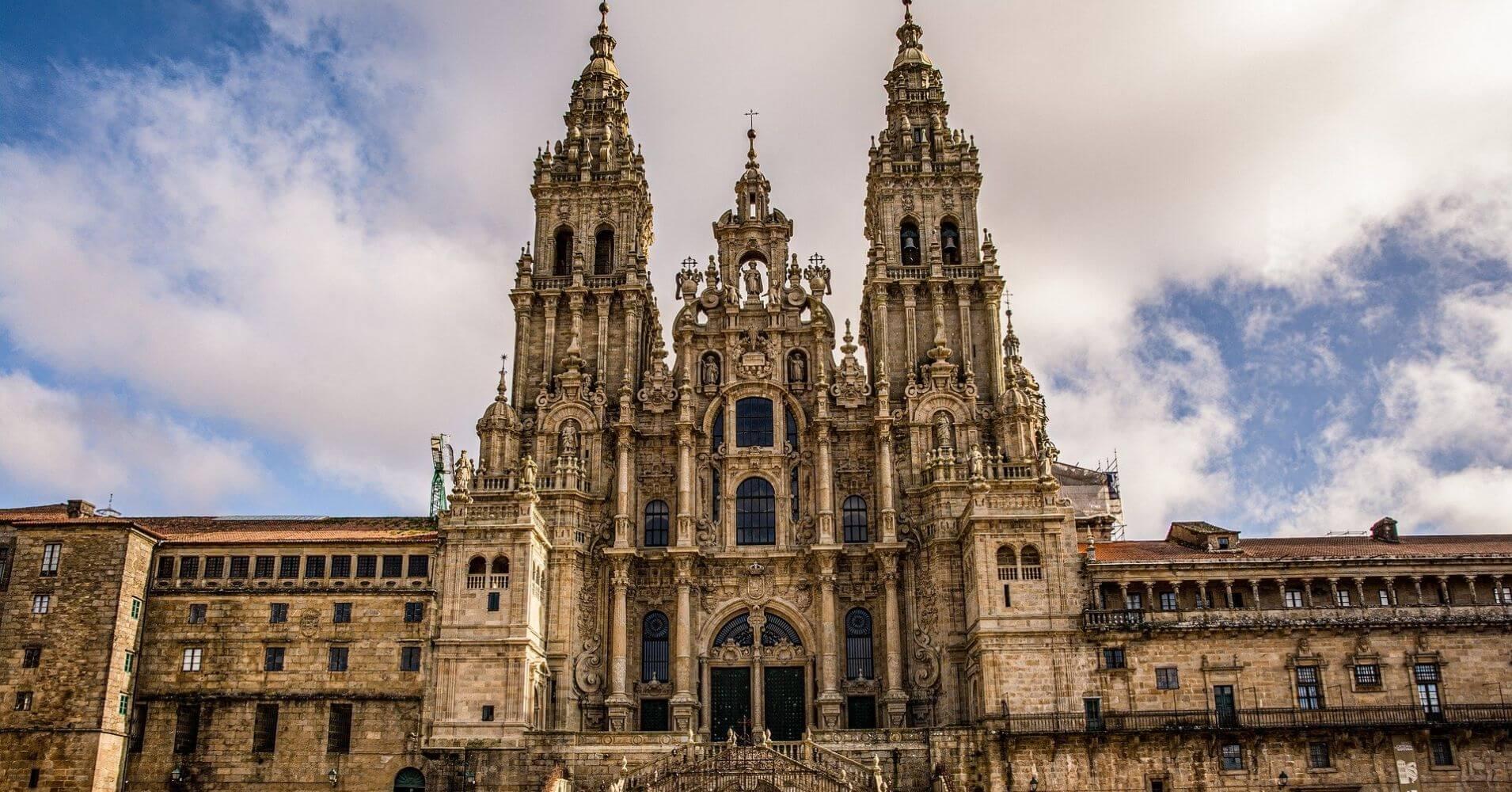 Catedral de Santiago de Compostela. A Coruña. Galicia. España.