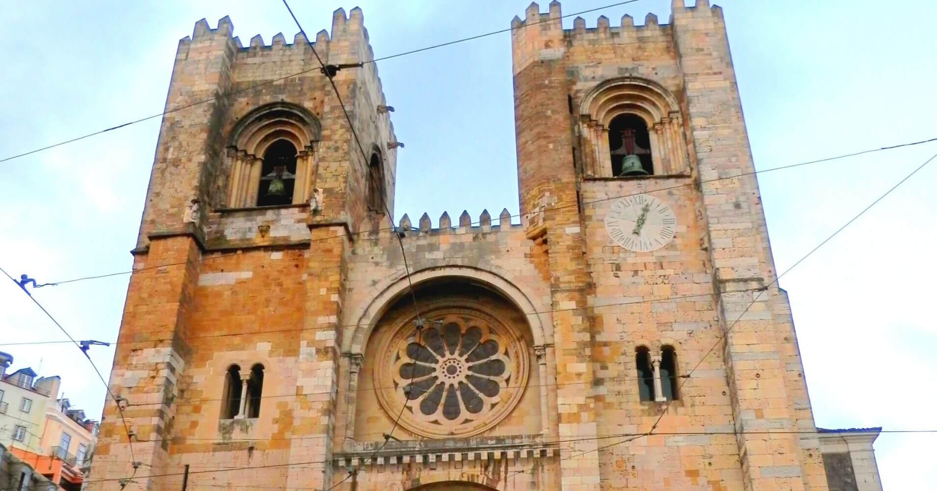 Catedral Sé de Lisboa Corazón de Fado. Portugal.