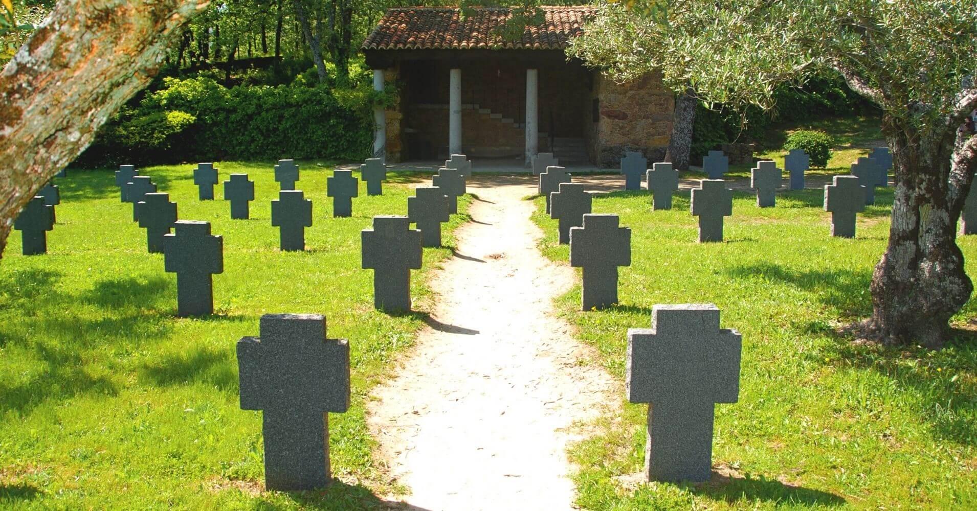 Cementerio de los Alemanes, Cuacos de Yuste. Extremadura.