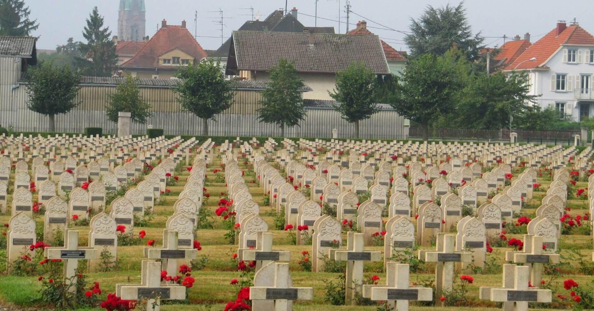 Cementerio Segunda Guerra Mundial. Gran Este. Francia.