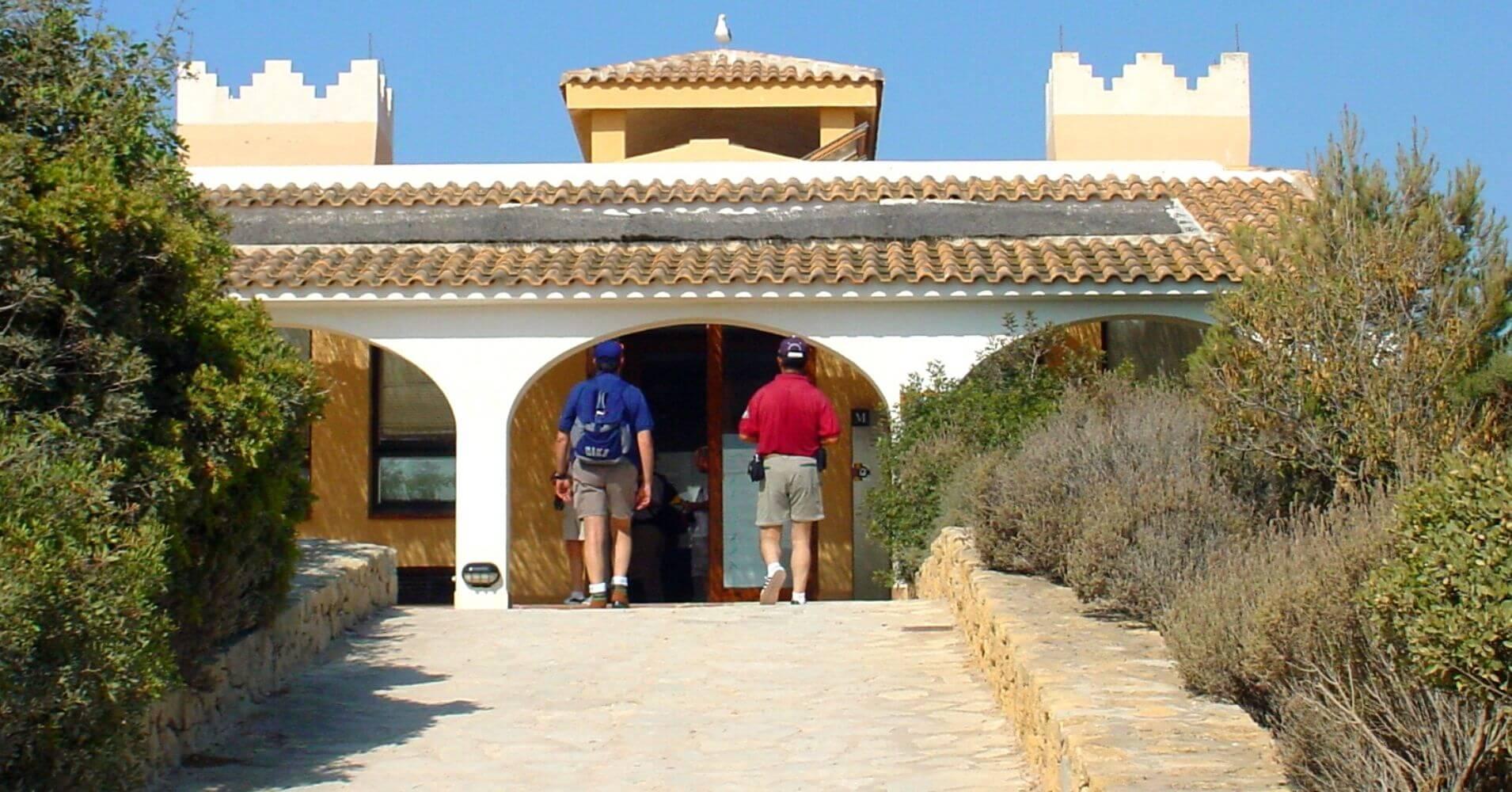 Centro de Interpretación del Parque Natural Peñón de Ifach. Calpe, Alicante. Comunidad Valenciana.