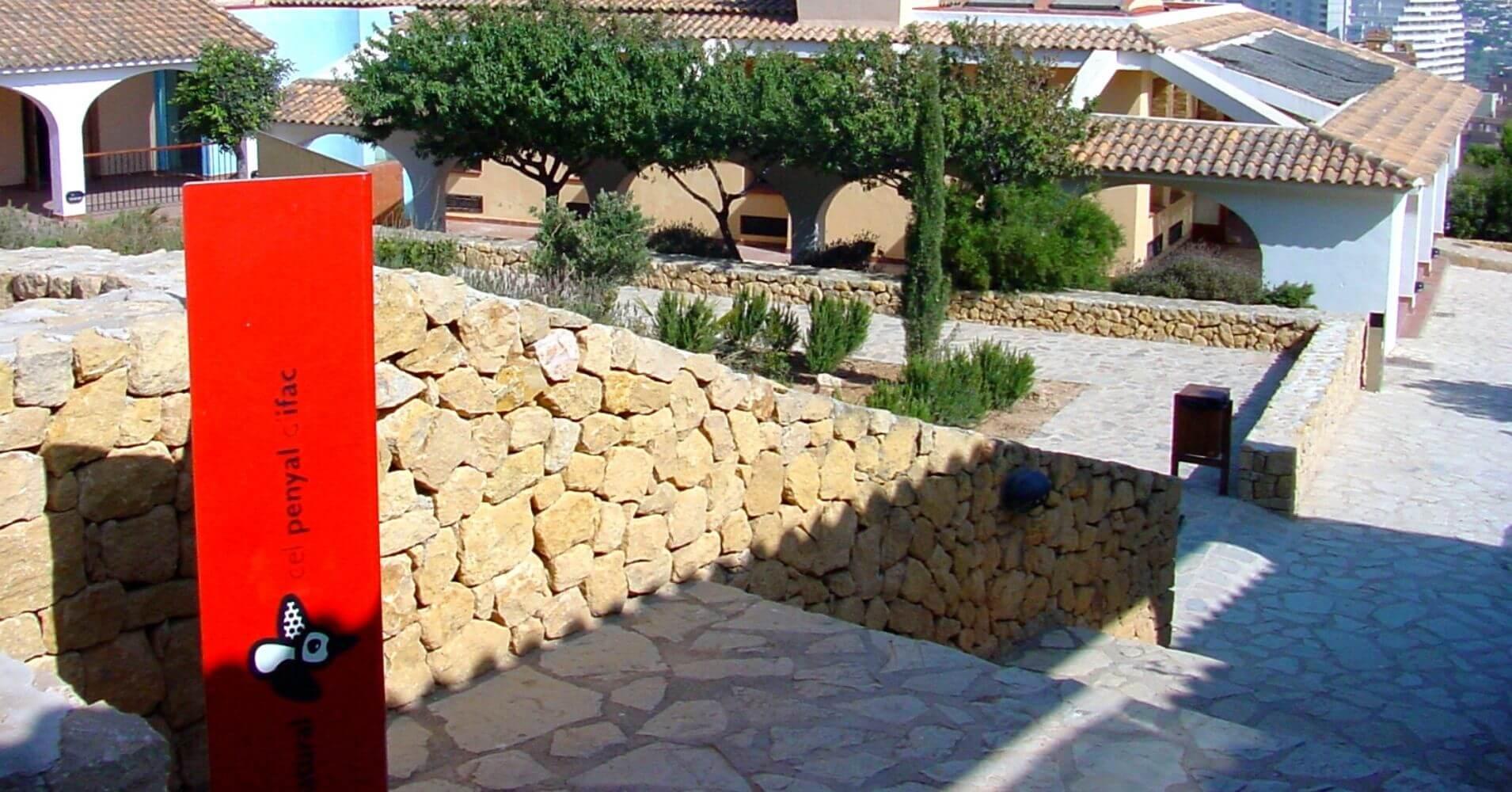 Centro de Interpretación Peñón de Ifach. Calpe, Alicate. Comunidad Valenciana.