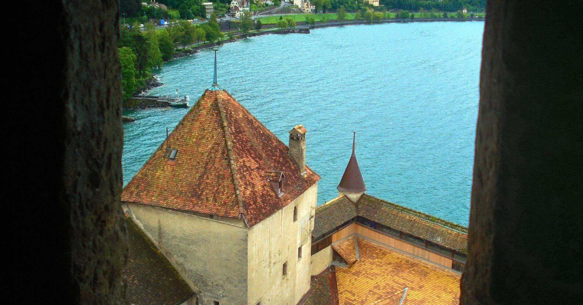 Château de Chillón. Veytaux, Suiza.