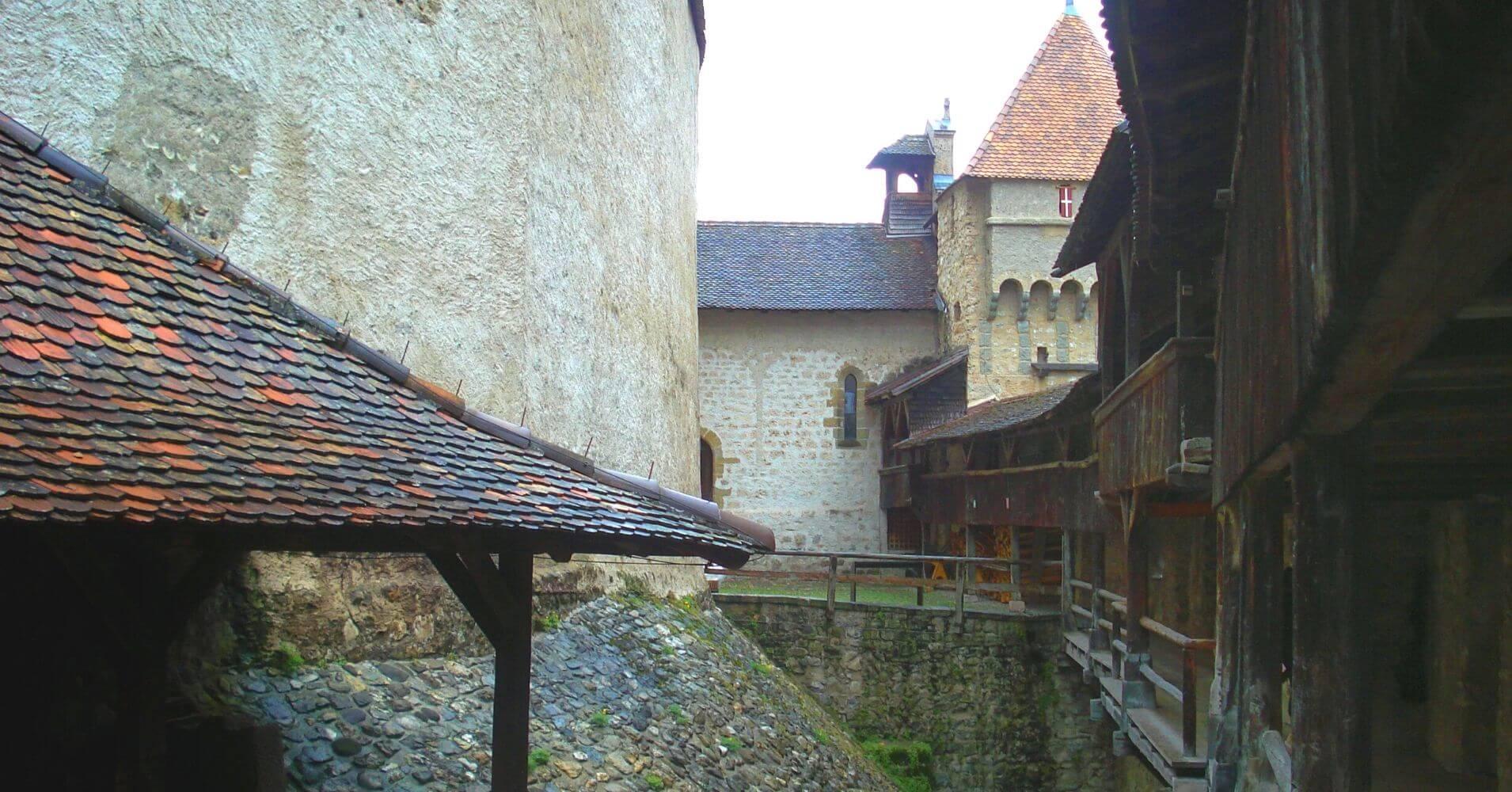 Chateau de Chillon. Veytaux, Vadud. Suiza.