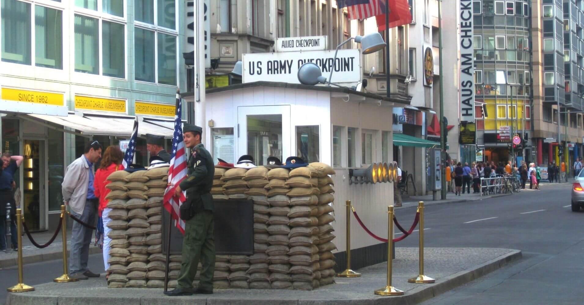 Checkpoint Charlie. Berlín. Alemania.