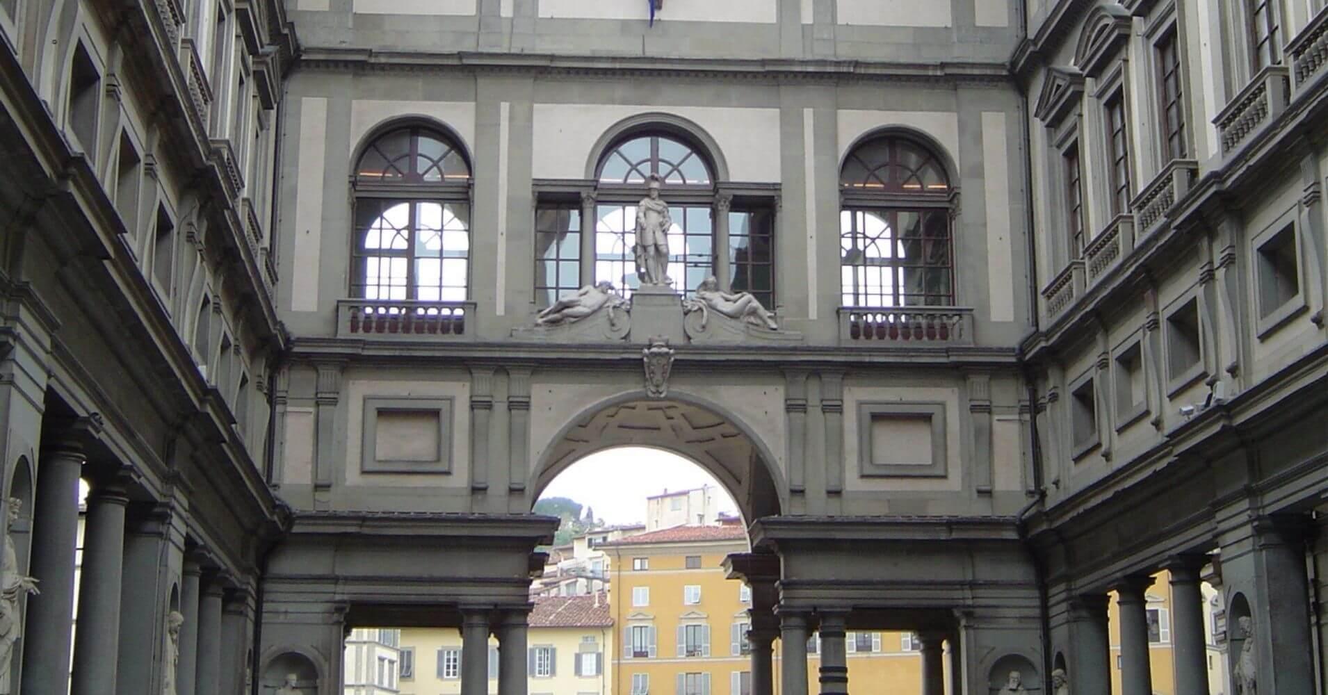 Cinco días en Florencia. Galería Uffizi. Toscana, Italia.