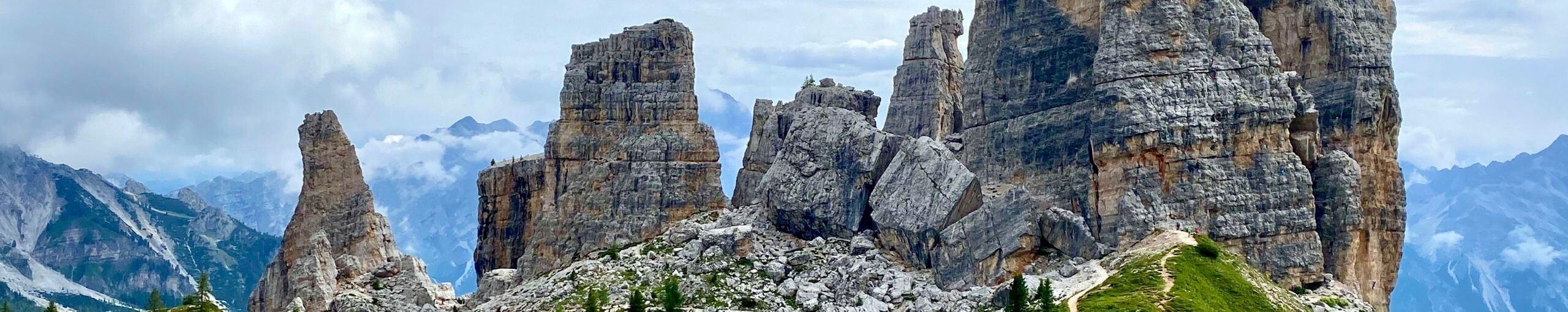 Cinque Torri - Cinco Torres