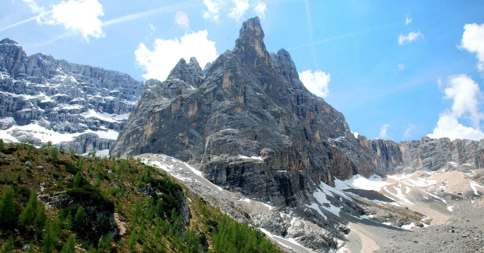 Circo del Lago. Dolomitas, Cortina d' Ampezzo. Belluno, Véneto. Italia.