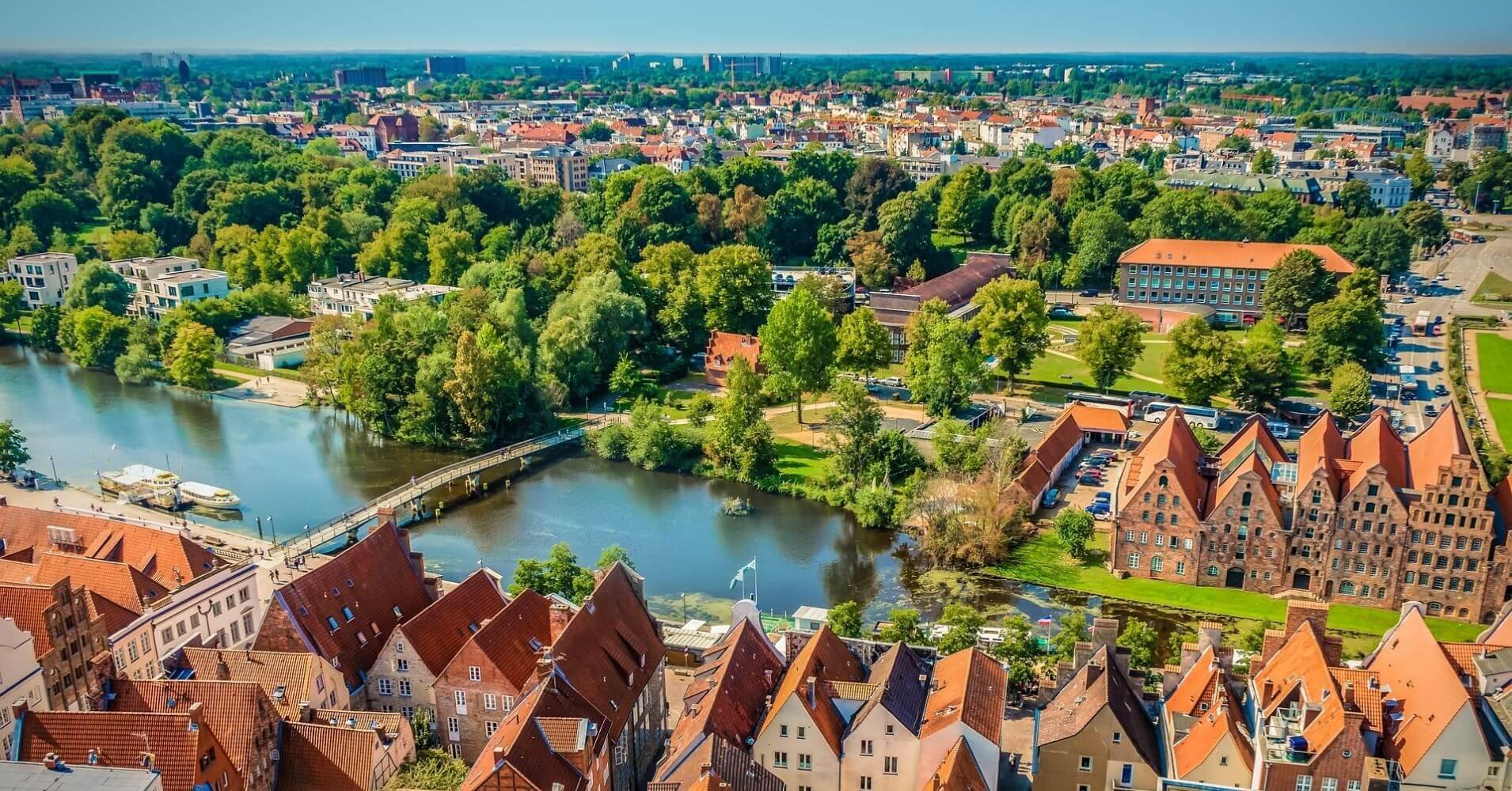 Ciudad hanseática de Lübeck. Schleswig-Holstein. Alemania.