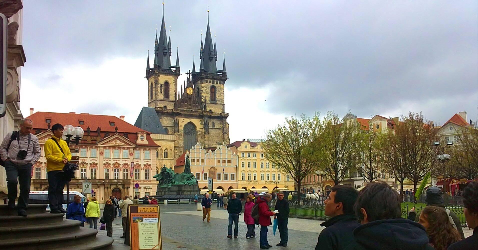 Ciudad Vieja de Praga Capital de Bohemia. República Checa.