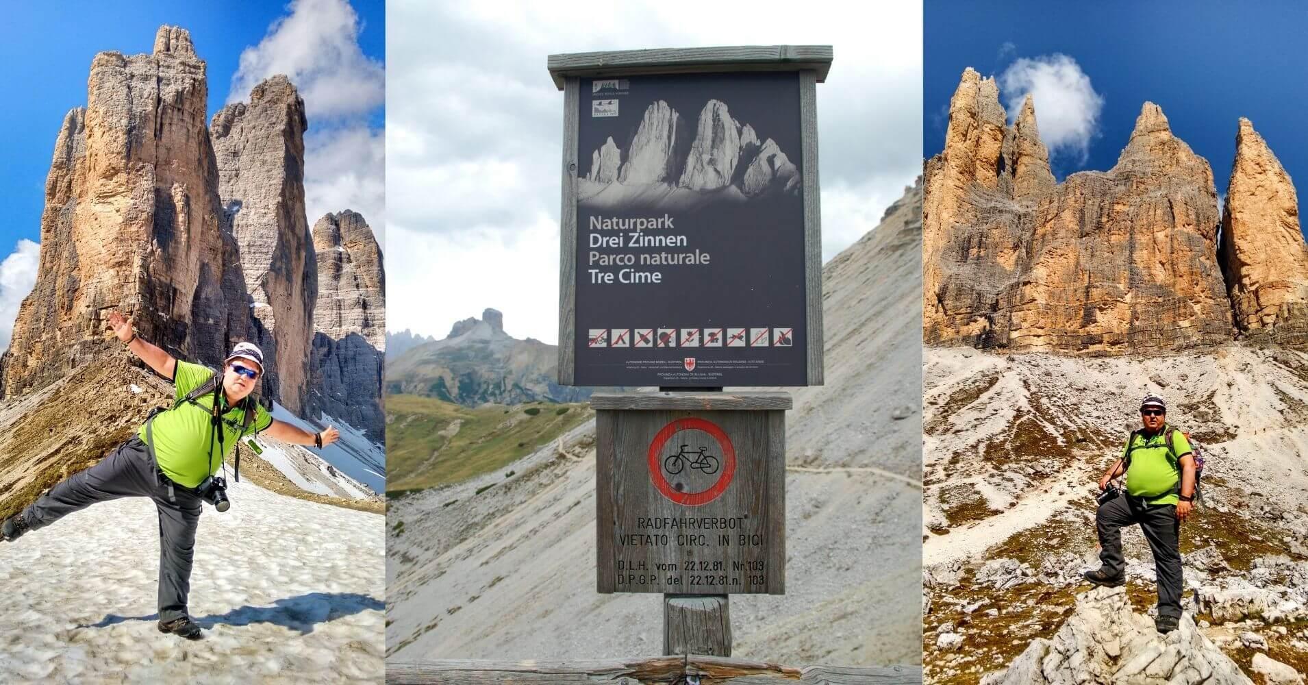 Collado de la Forcella de Lavaredo o Collado Patternsattle. Alpes Dolomitas. Tres Cimas di Lavaredo. Belluno, Véneto. Italia.