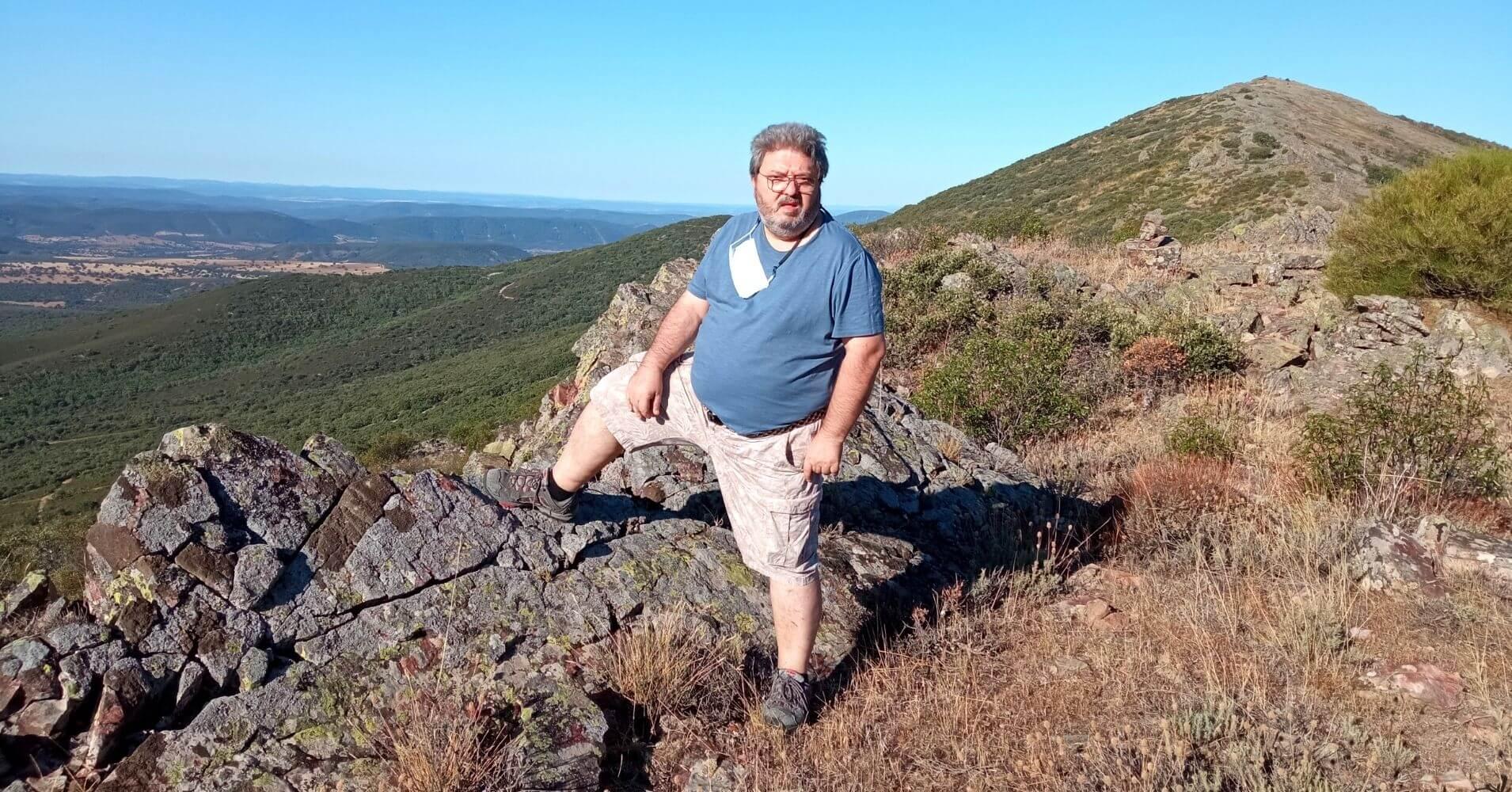 Collado entre Cerro Lagunillas y Cerro Vicente 1430m. Montes de Toledo. Castilla la Mancha.