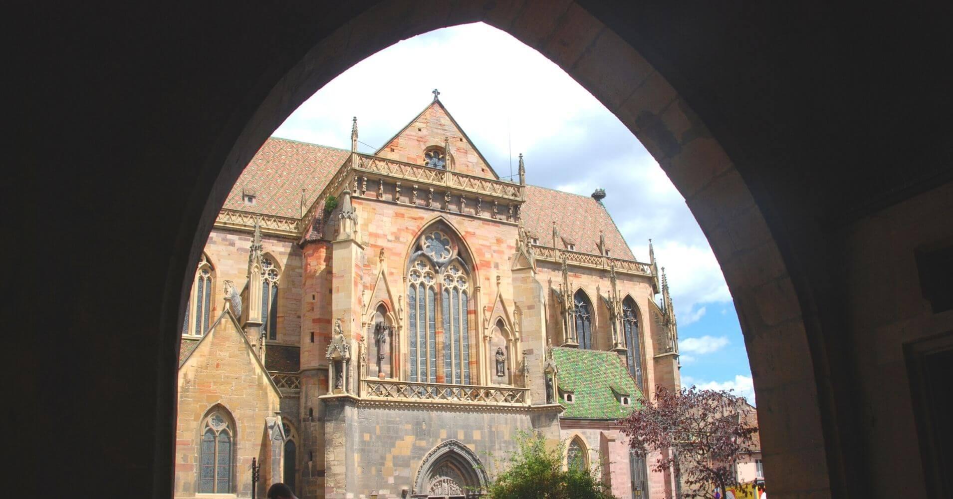 Colegiata de Sant Martín. Colmar, Alsacia. Departamento de Alto Rin. Gran Este. Francia.