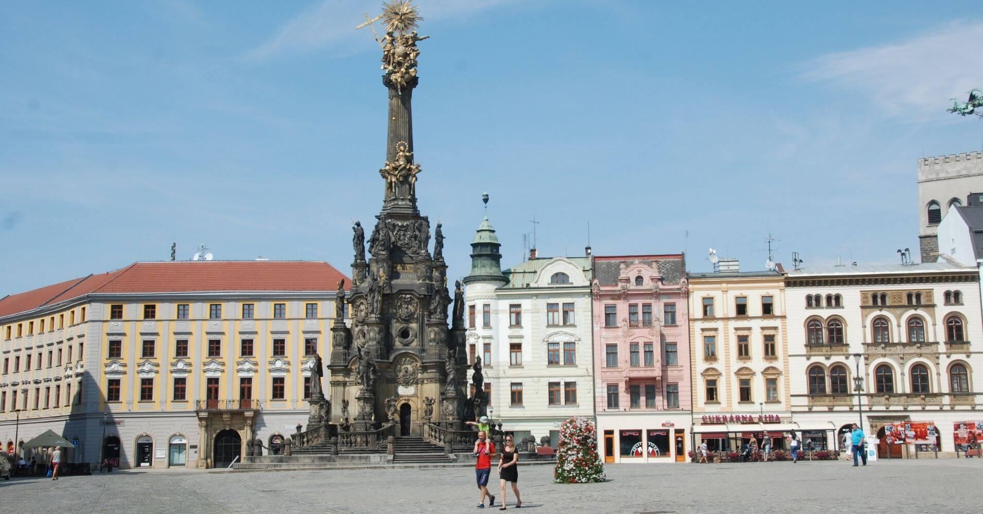 Columna de la Santísima Trinidad de Olomouc. Chequia.
