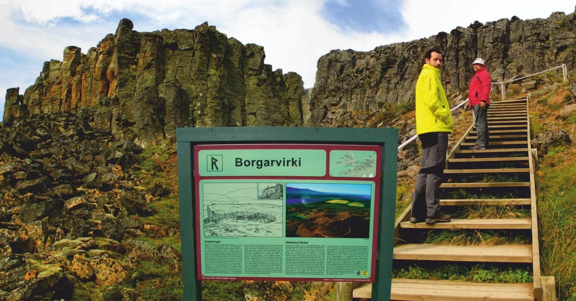 Columnas Volcánicas de Borgarvirki. Península de Vatnsnes. Norðurland Vestra. Islandia.