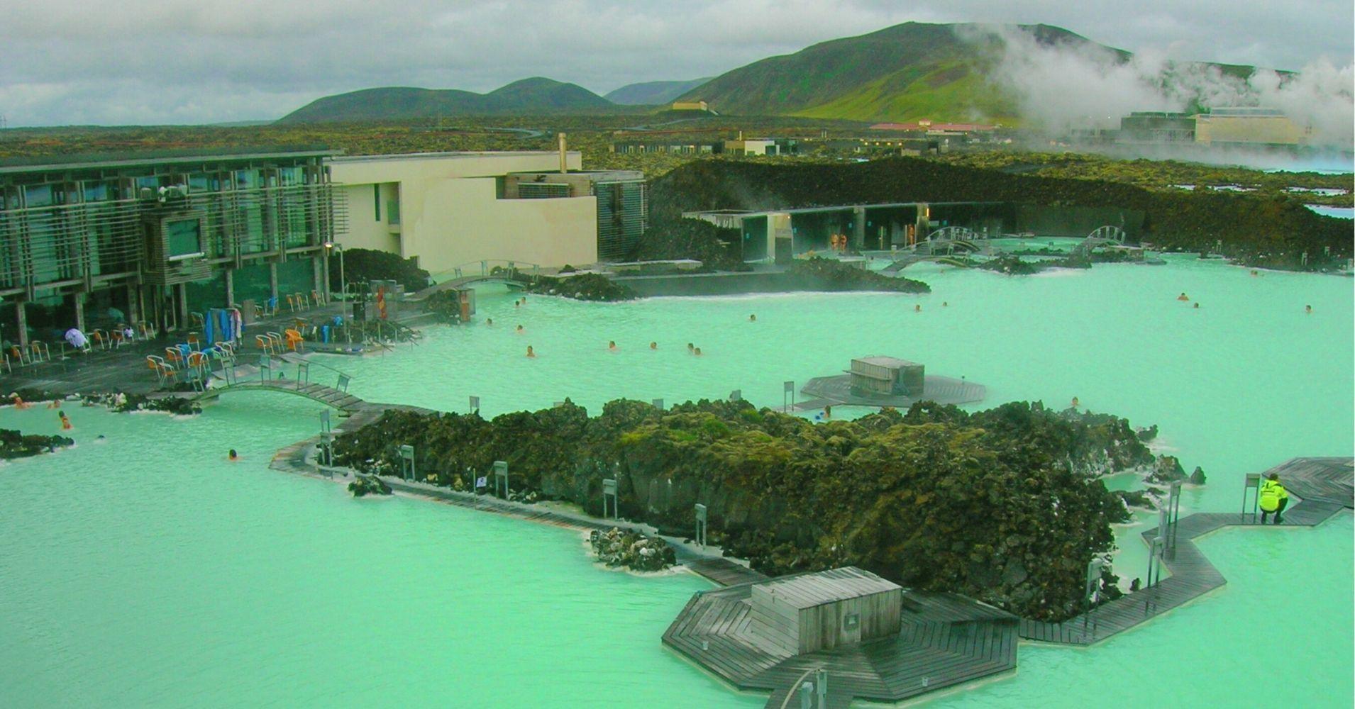 Complejo de la Laguna Azul Blue Lagoon. Islandia.