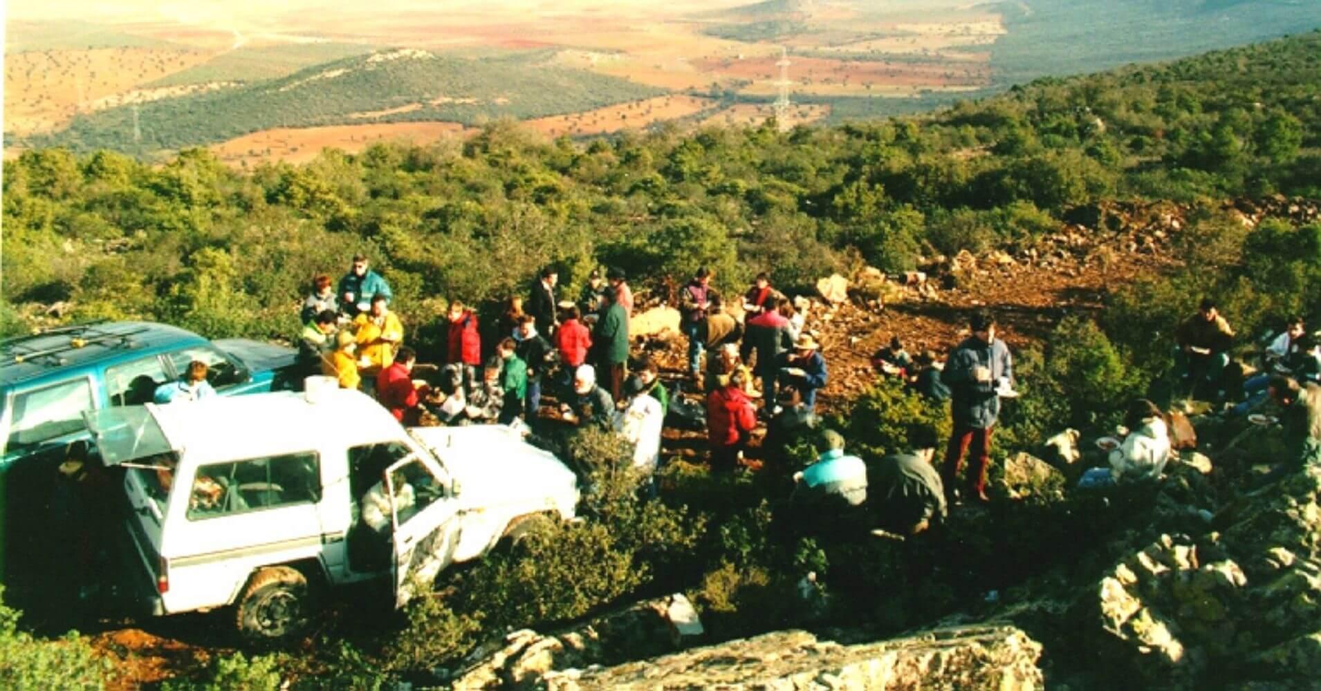 Concentración 4x4 Montes de Toledo.