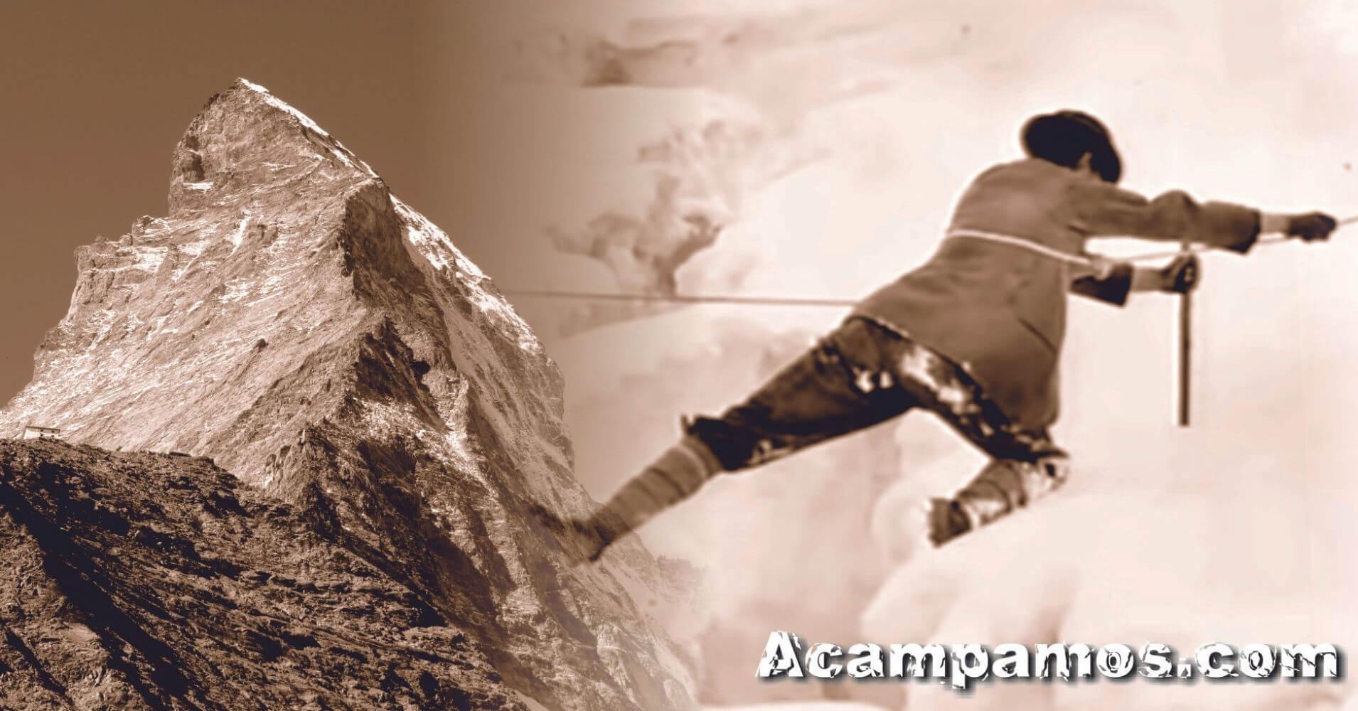 Conquista del Cervino. Zermatt, Suiza.
