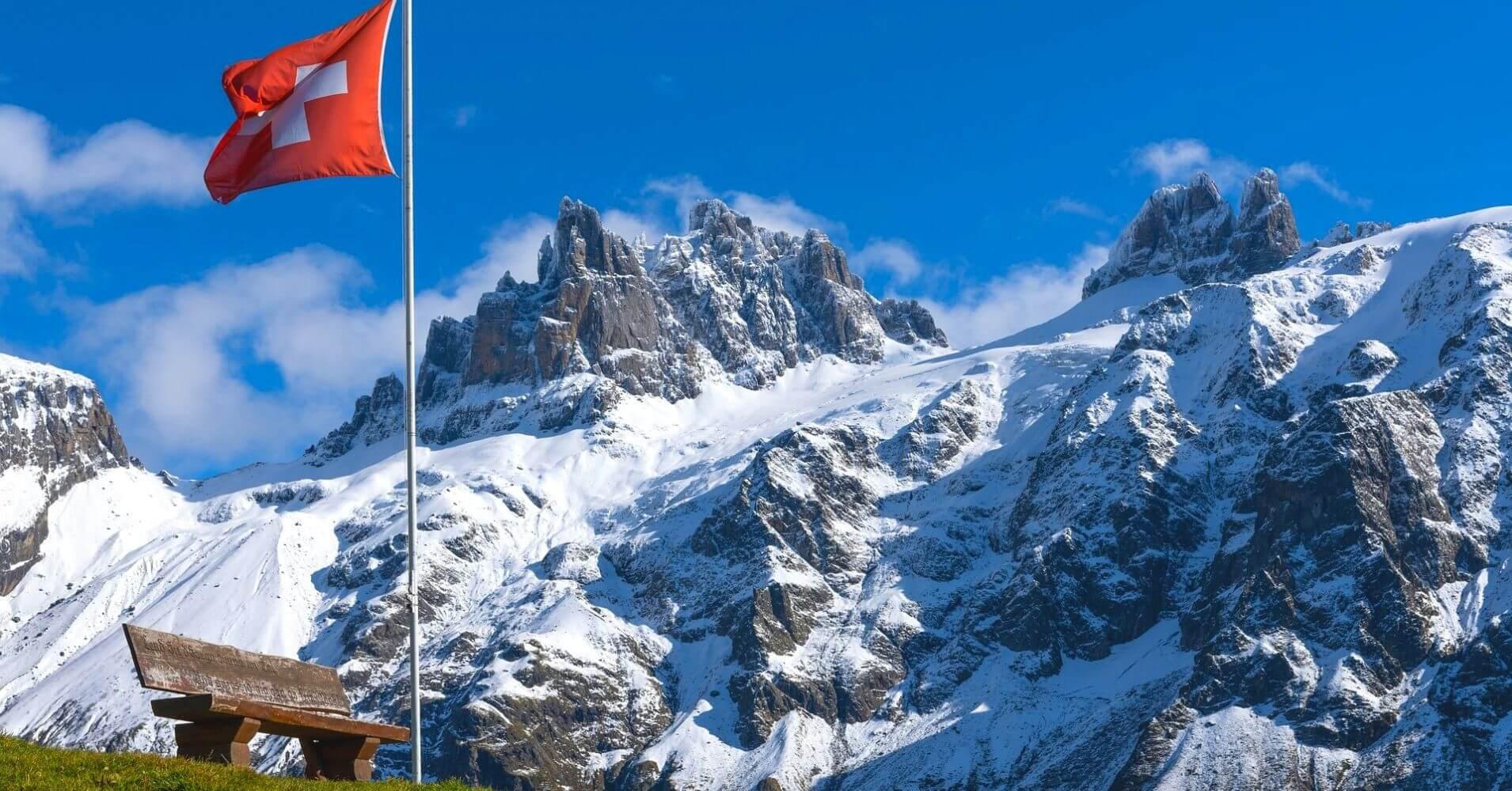 Cordillera de los Alpes. Suiza.