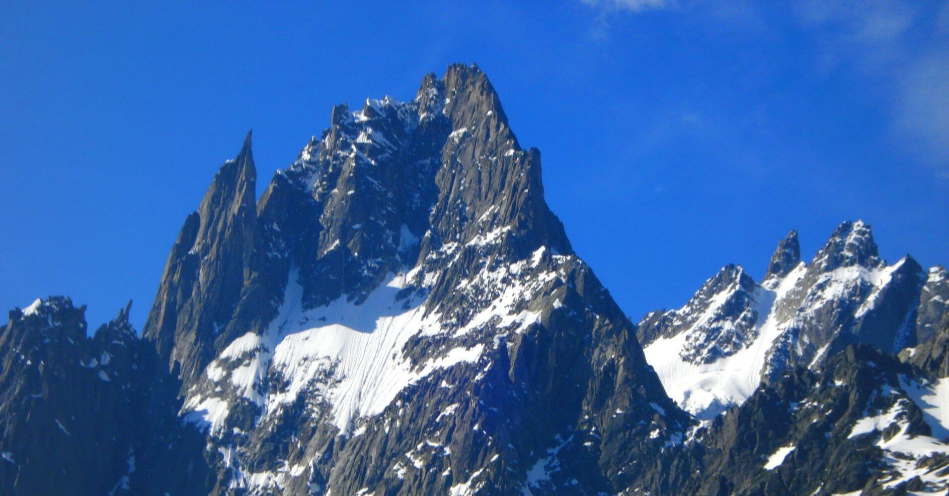 Cordillera de los Alpes. Tour del Mont Blanc. Suiza, Francia, Italia.