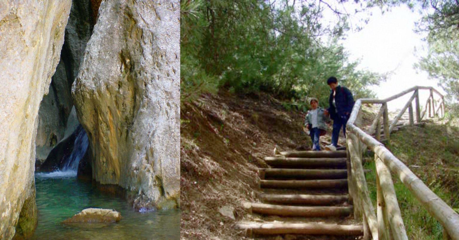 Cueva del Nacimiento del Guadalquivir. Sierra de Cazorla, Jaén. Andalucía.