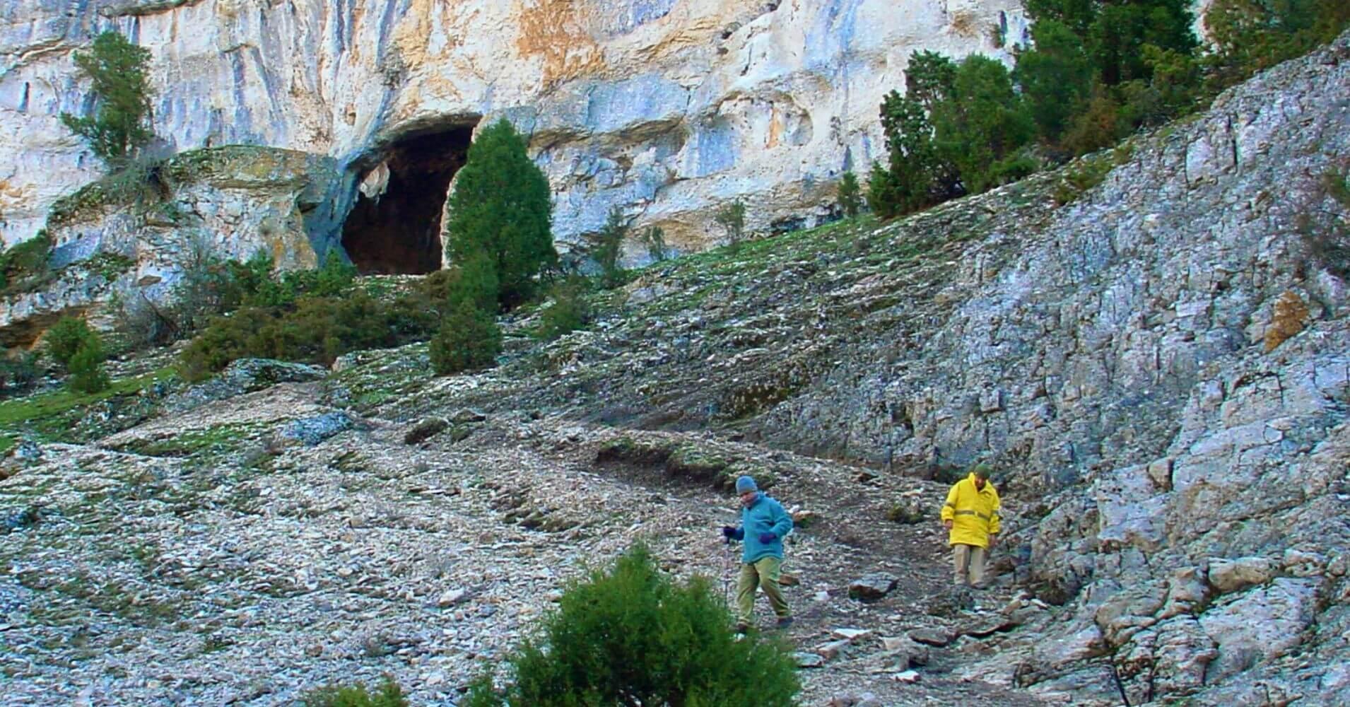 Cueva Negra, Cañón del río Lobos. Soria.