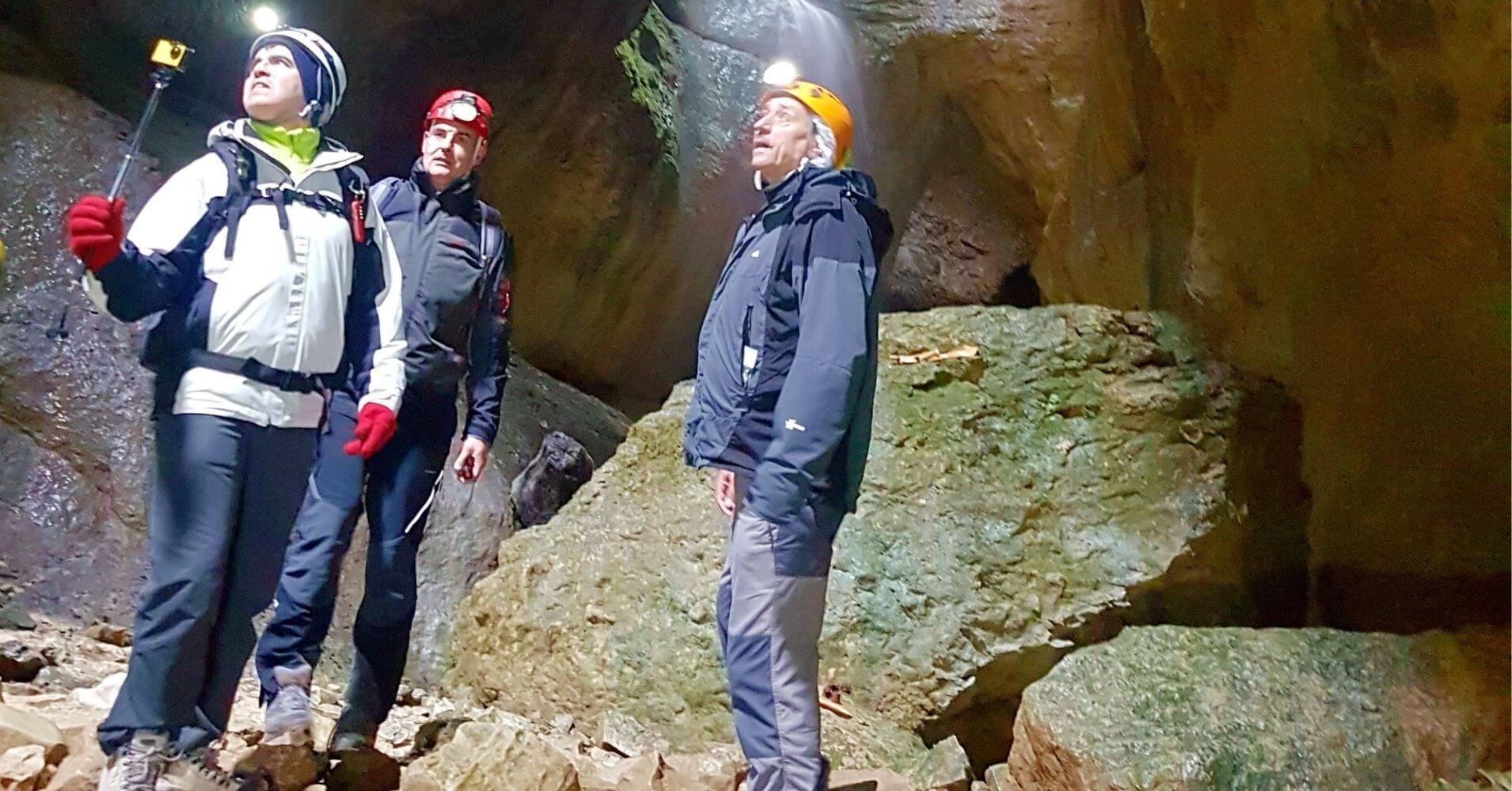 Cueva Palomera. Complejo Cárstico de Ojo Guareña. Las Merindades, Burgos. Castilla y León.