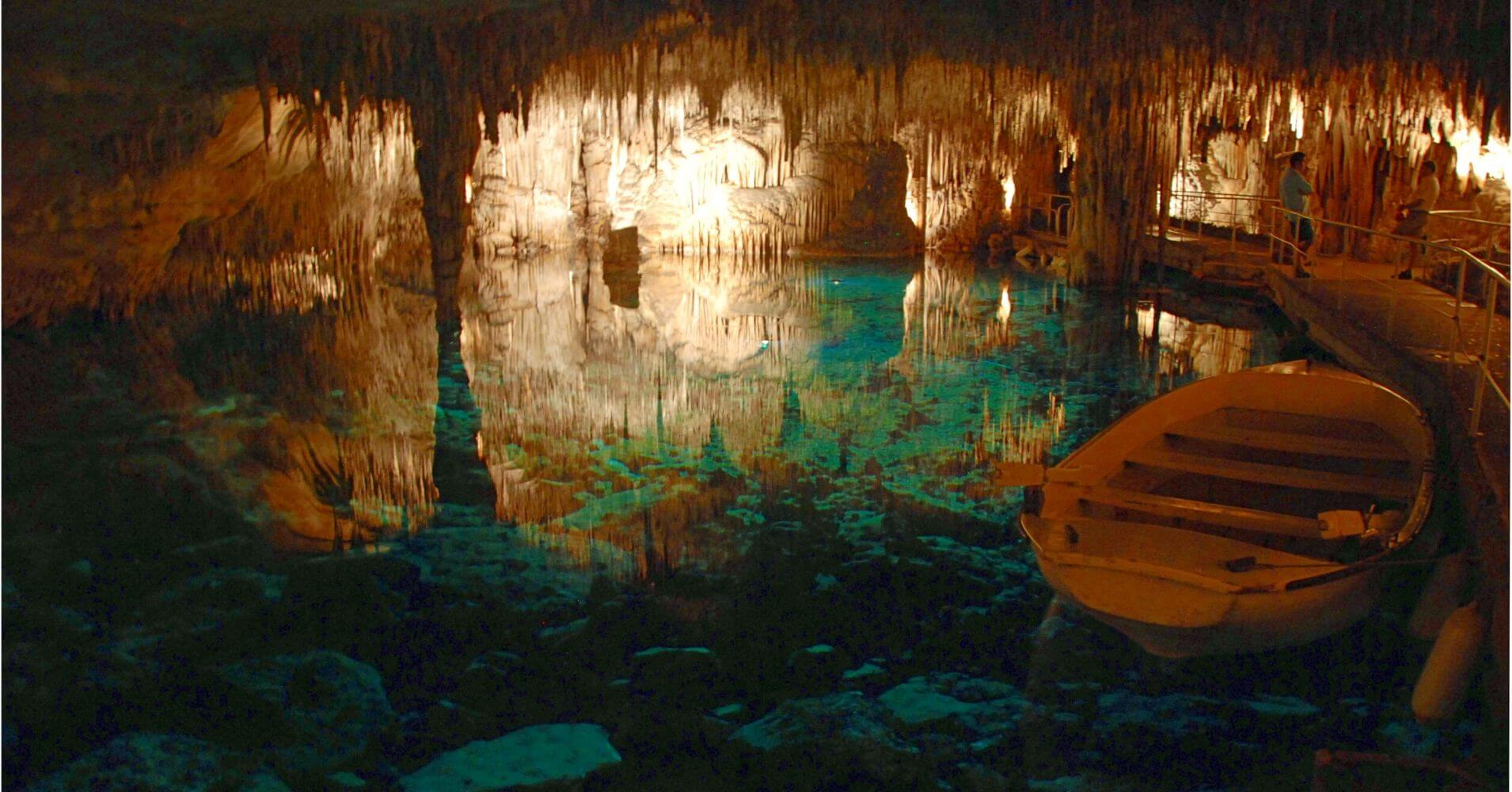 Cuevas del Drach. Isla de Palma de Mallorca.