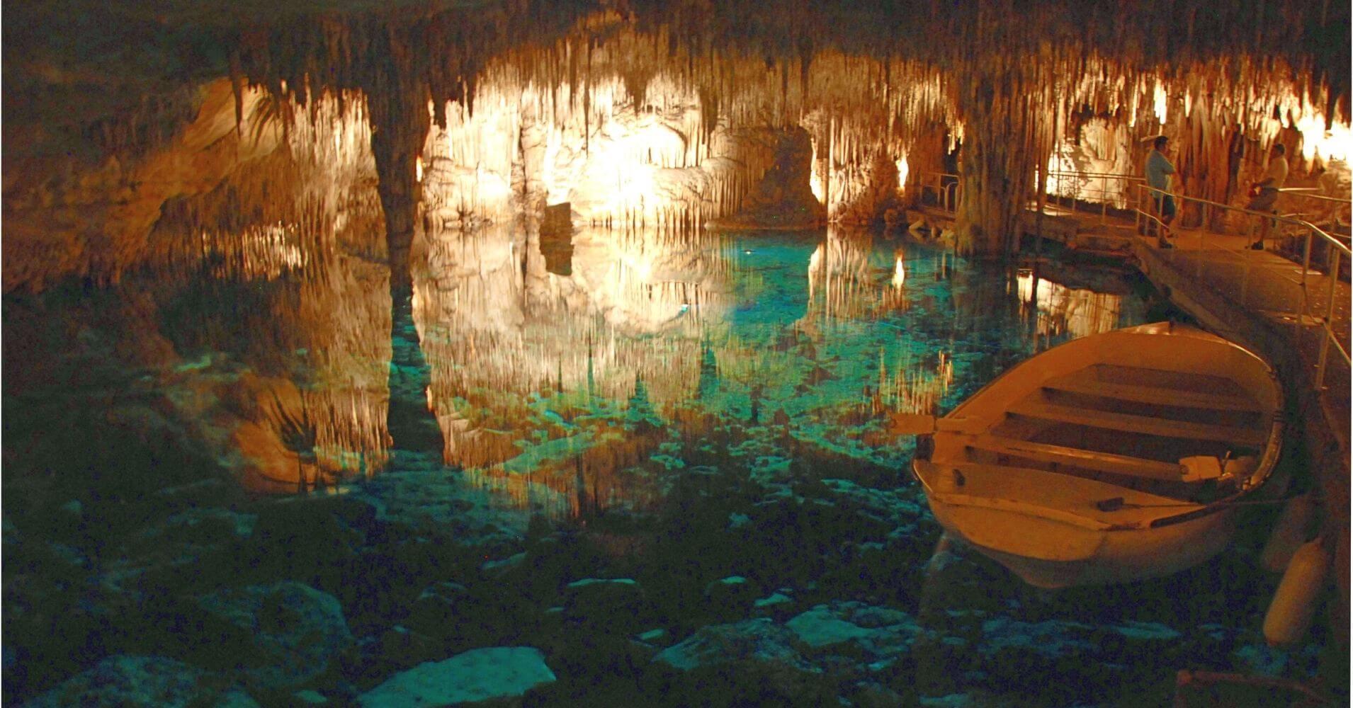 Cuevas del Drach. Porto Cristo. Palma de Mallorca. Islas Baleares. España.