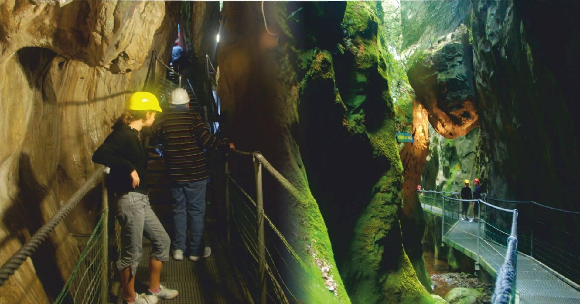 Cuevas y Grutas de les Gorges de la Fou. Arles-Sur-Tech. Departamento de Pirineos Orientales. Occitania. France.