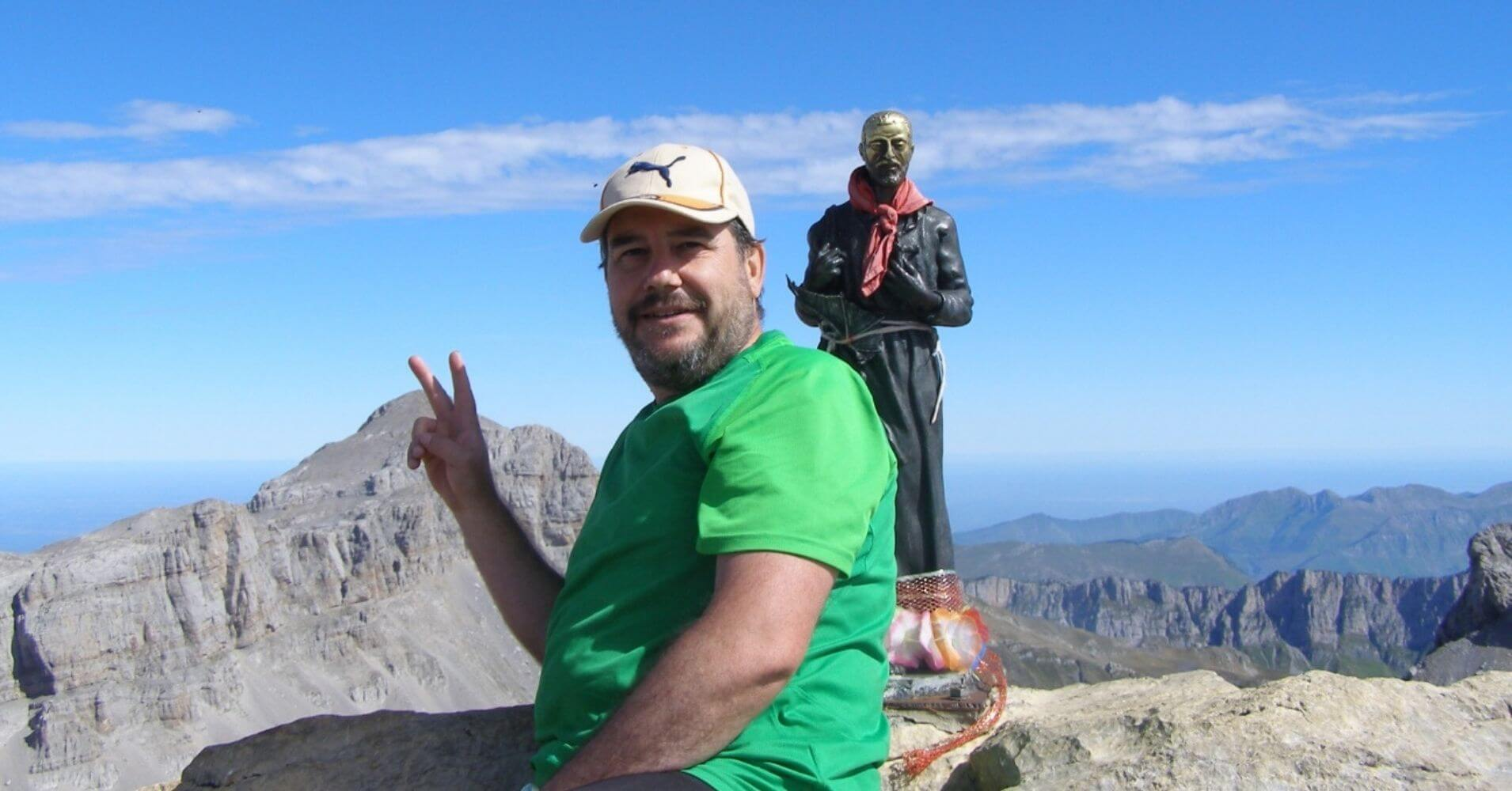 Cumbre de la Mesa de los Tres Reyes, Navarra.