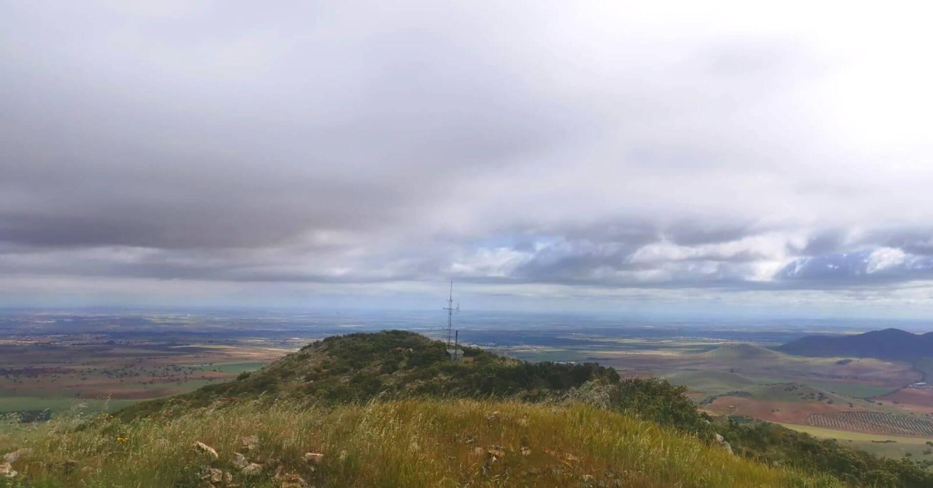 Cumbre de la Sierra. Estación Meteorológica. Layos, Toledo, Castilla La Mancha.