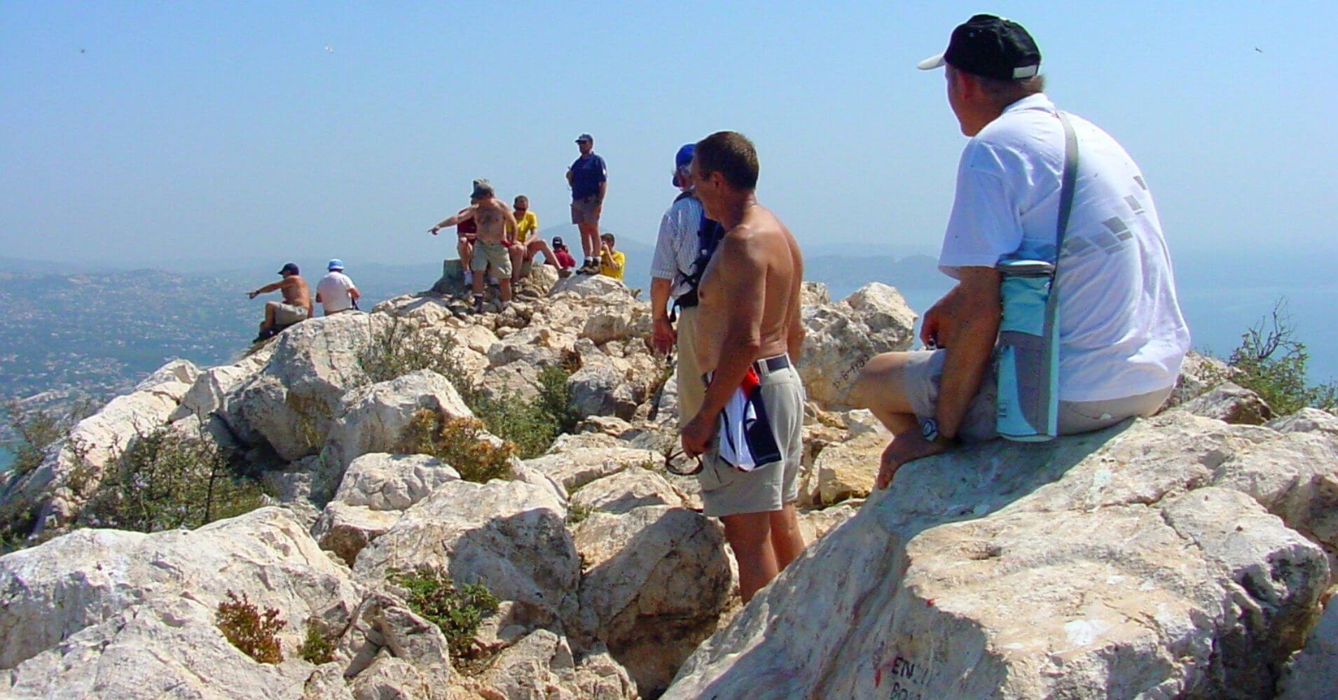 Cumbre del Peñón de Ifach. Calpe, Alicante. Comunidad Valenciana.