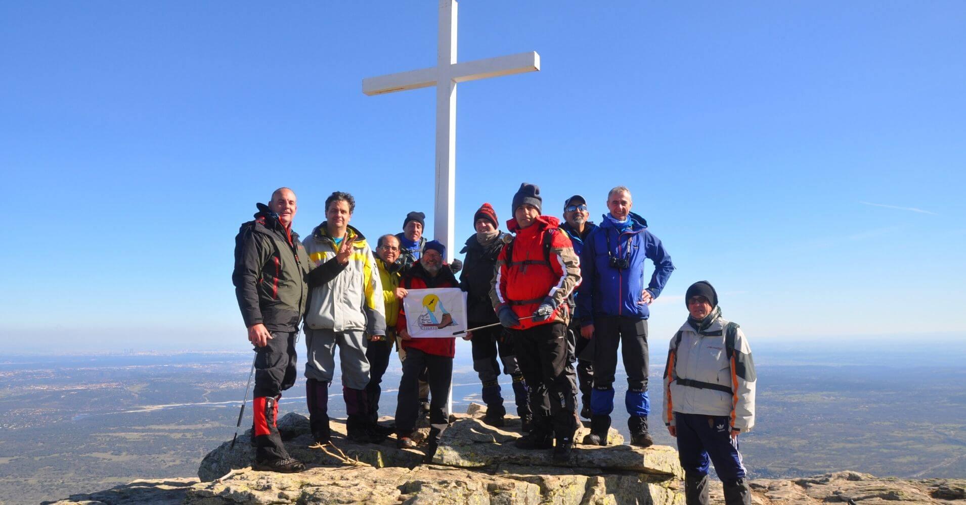 Cumbre del Pico Abantos. Sierra de Guadarrama. El Escorial.