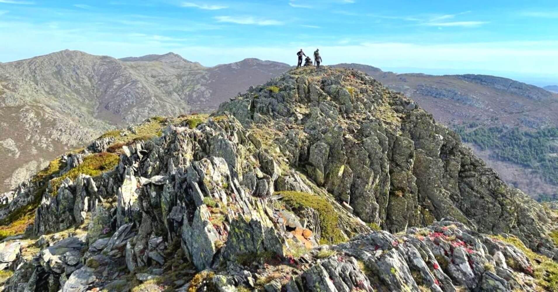 Cumbre del Pico de la Atalaya. Sierra de Ayllón. Guadalajara, Castilla La Mancha.